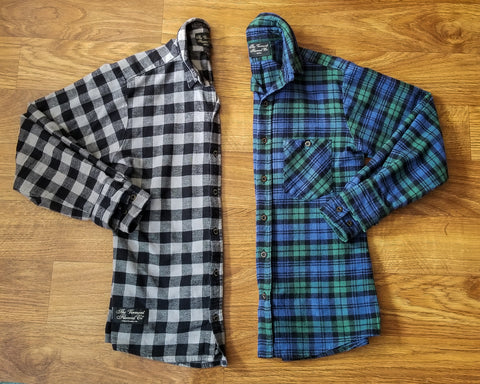 Vermont Flannel Company Fitted Flannel flat lay
