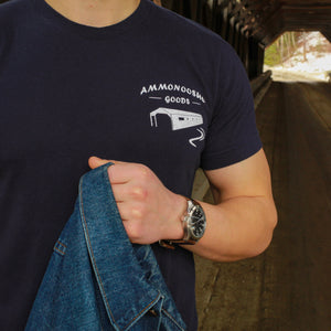 The Logo T-Shirt - Navy