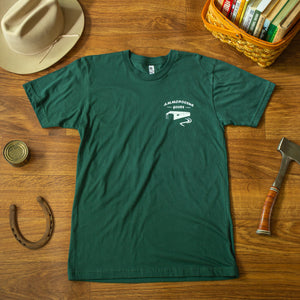 The Logo T-Shirt - Forest Green