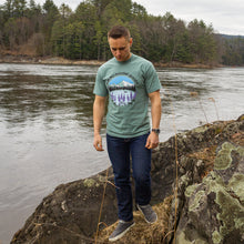 Load image into Gallery viewer, Lupines by the Lake T-Shirt | Ammonoosuc Goods