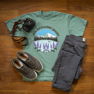 Lupines by the Lake T-Shirt