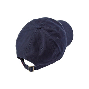 Bridge and River ball cap - Navy White Background