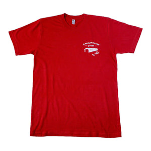 The Logo T-Shirt - Ammonoosuc Goods - Red
