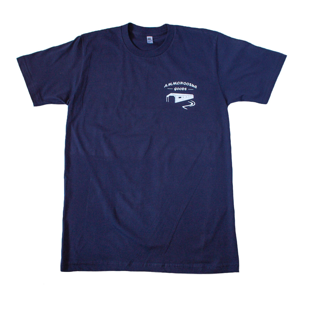 The Logo T-Shirt - Ammonoosuc Goods - Navy