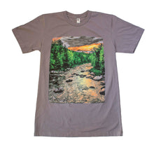 Load image into Gallery viewer, The River Tee White background
