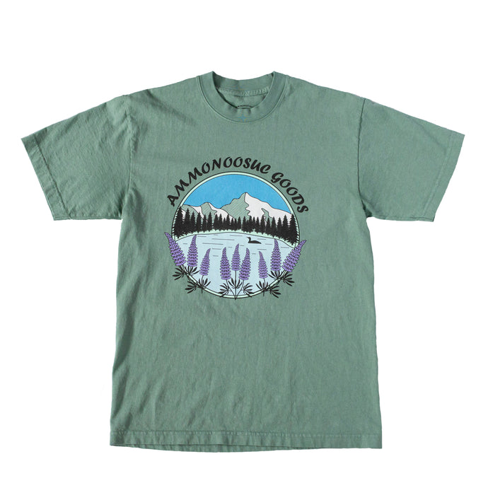 Lupines by the Lake T-Shirt | Ammonoosuc Goods