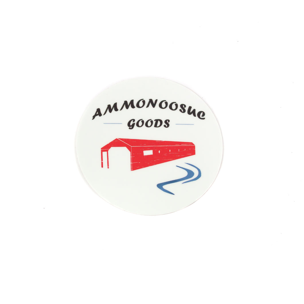 Durable Vinyl Sticker | Printed in the USA | Ammonoosuc Goods