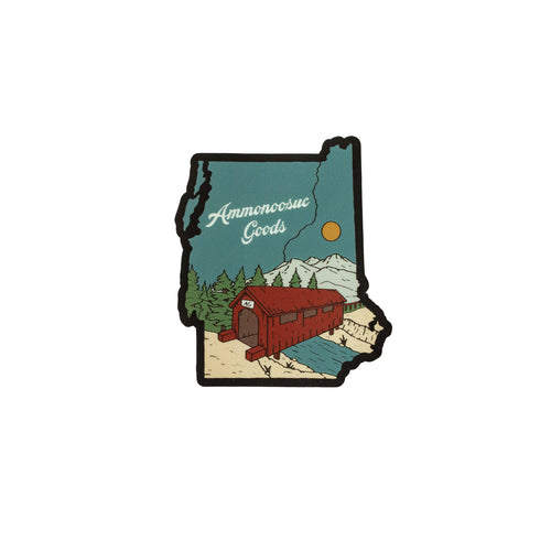 The Twin States Sticker