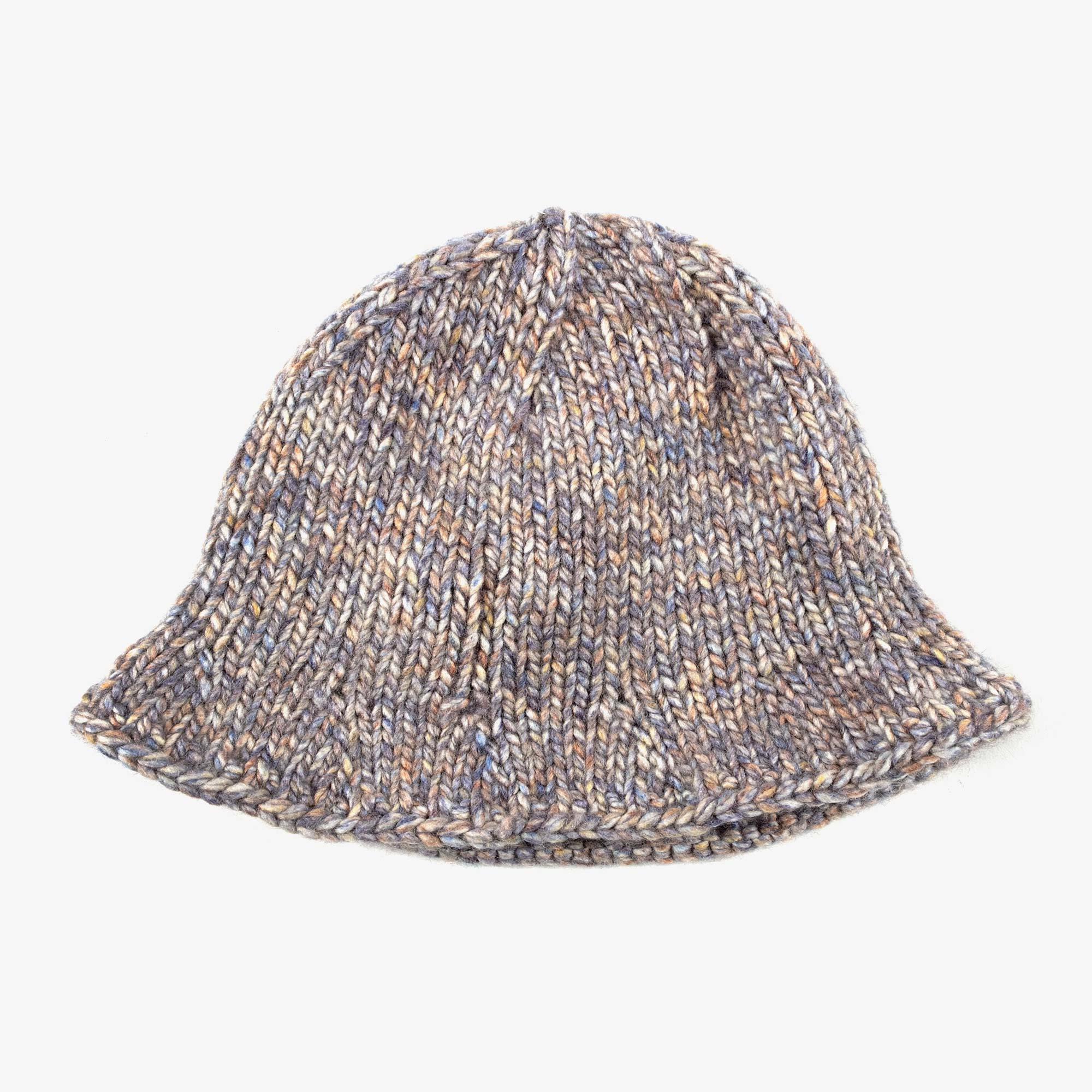 About The Tower t'1361 Knitted Bucket Hat - Grey 1