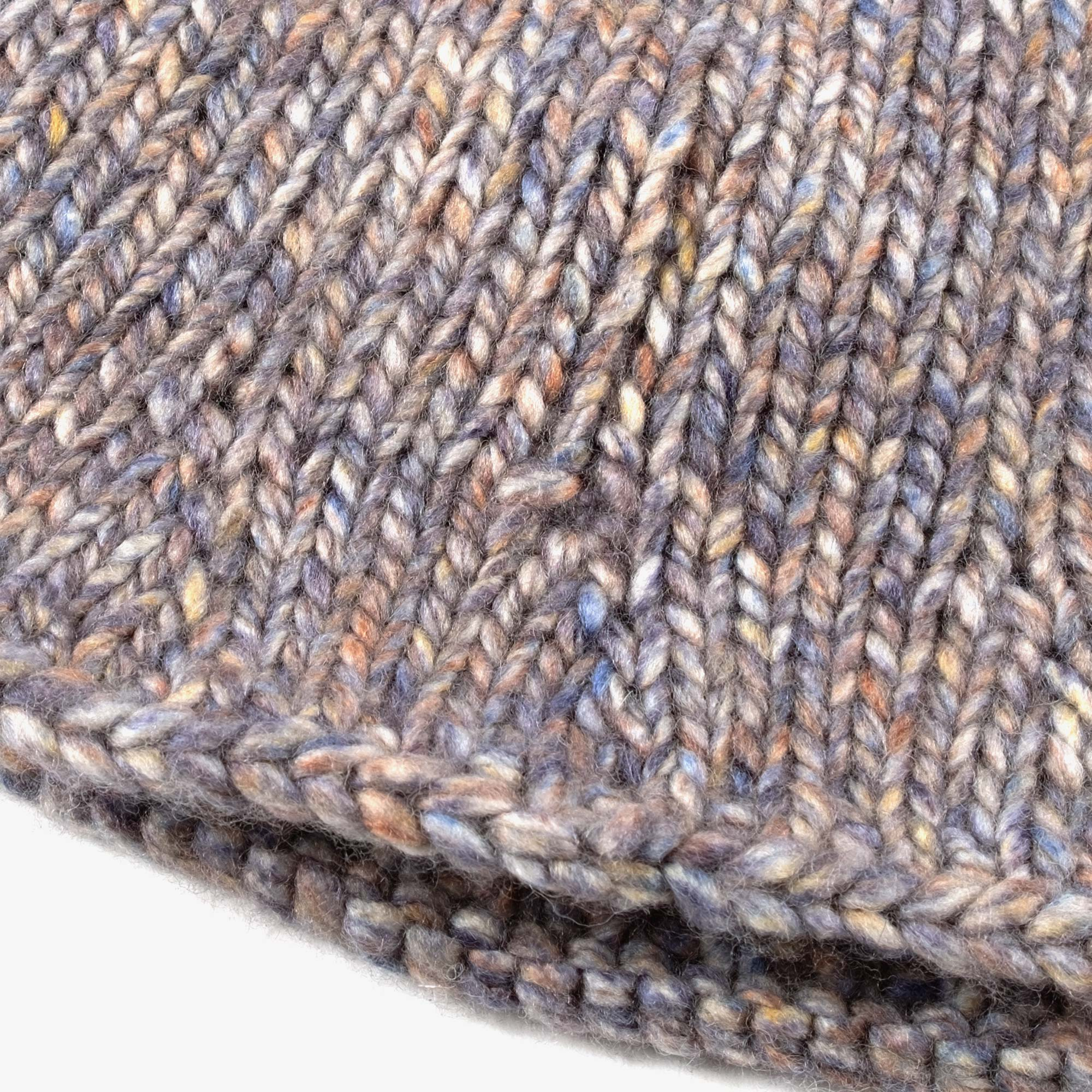 About The Tower t'1361 Knitted Bucket Hat - Grey 2