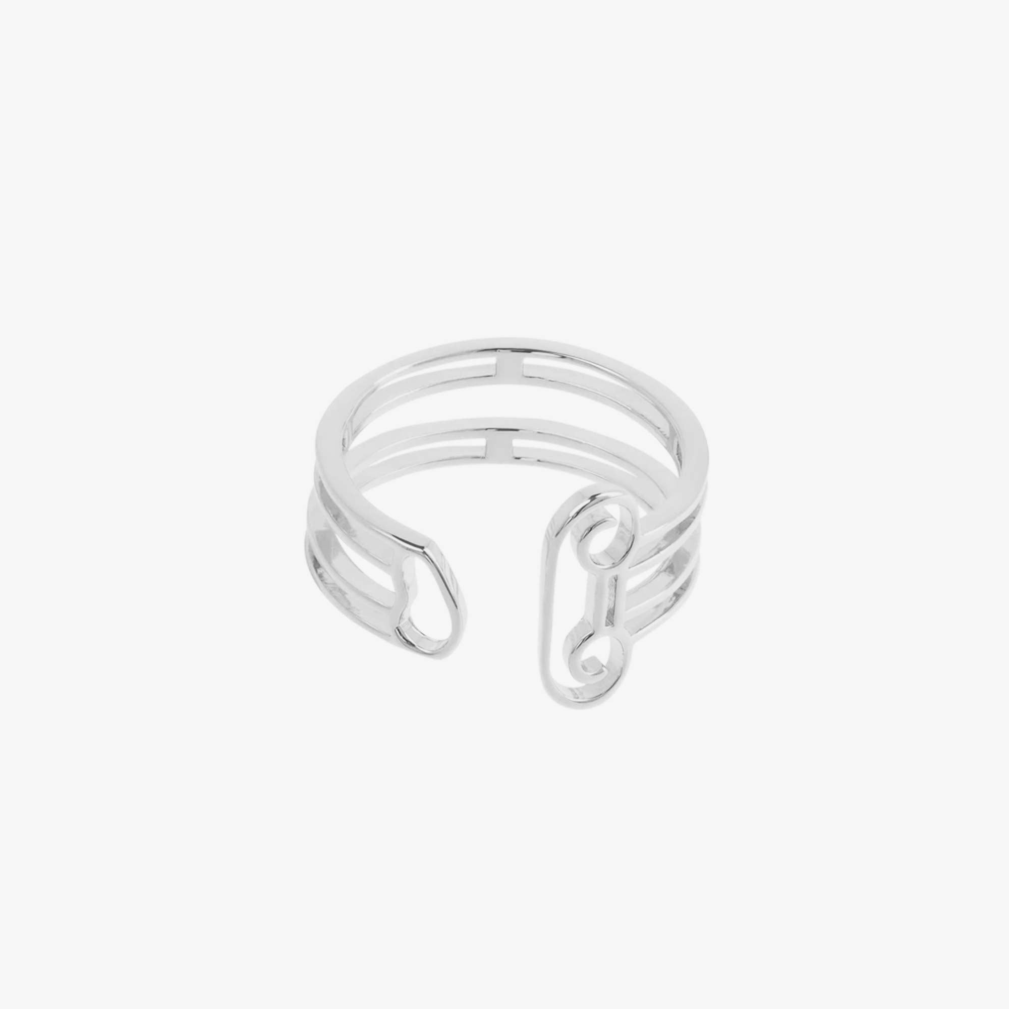 Aries Column Ring - Silver 1