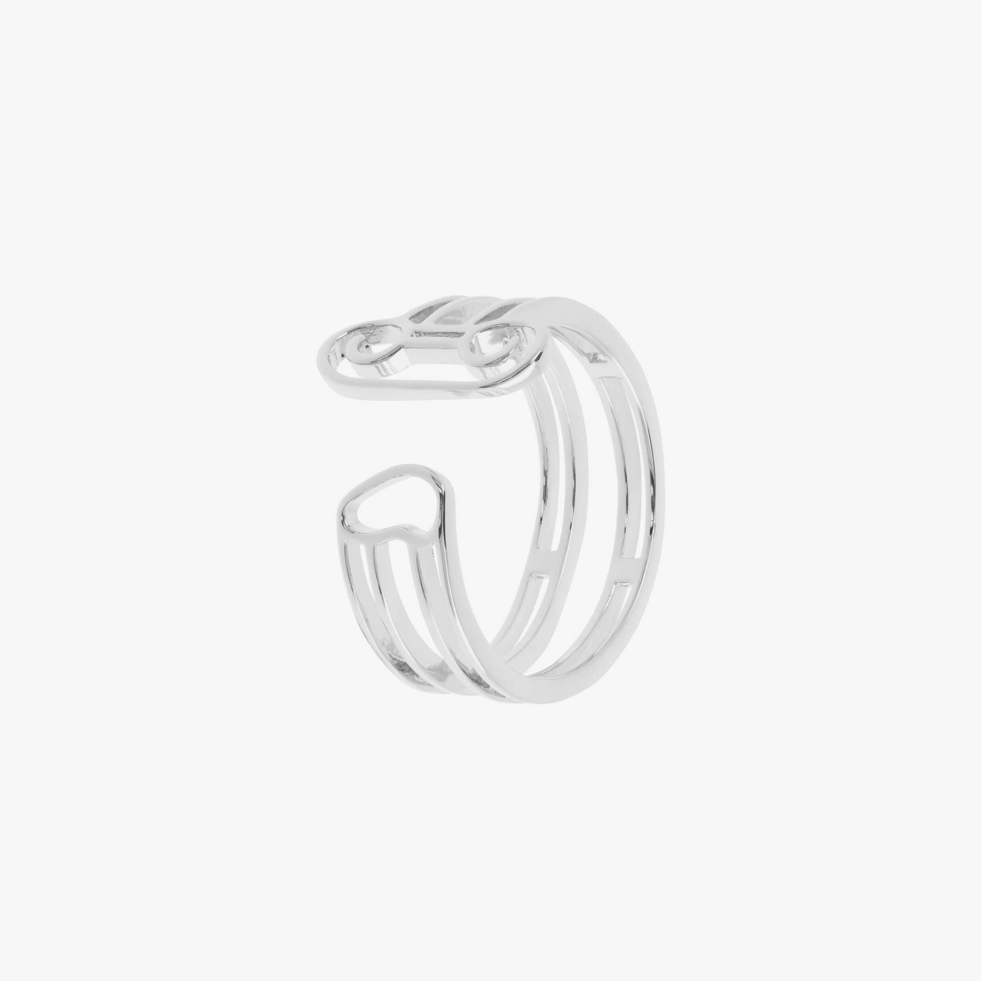 Aries Column Ring - Silver 2