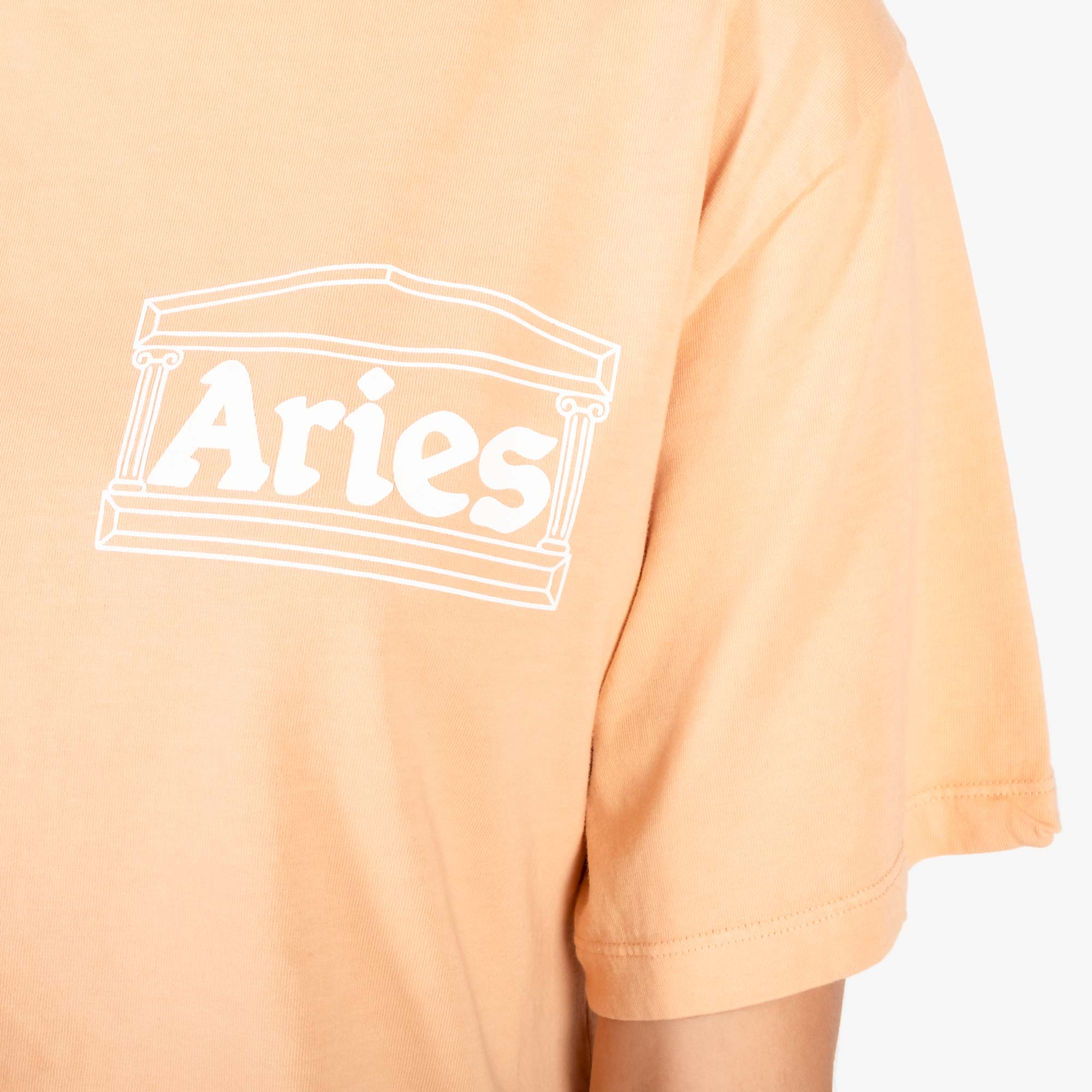 Aries Women's Ring Tee - Peach 4