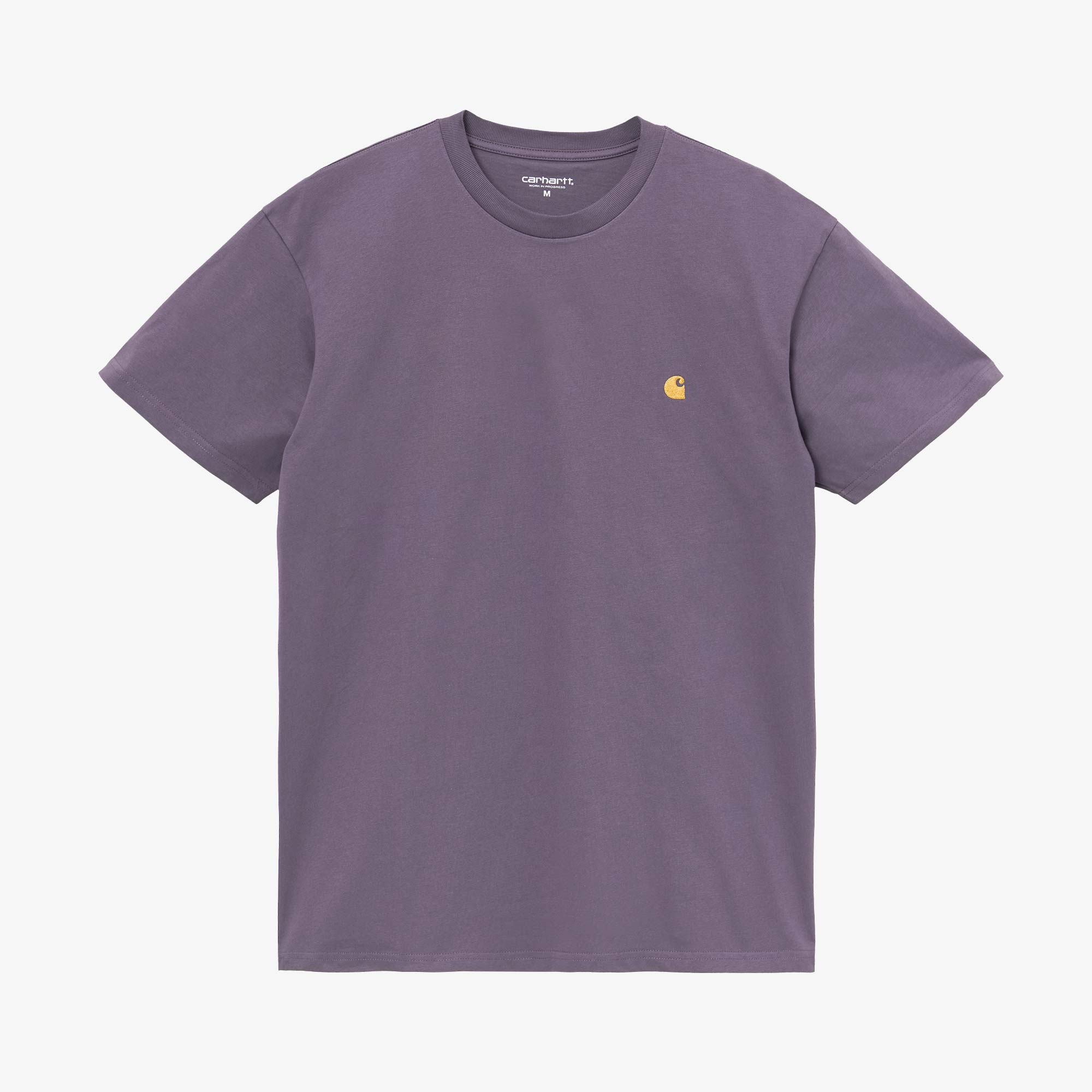Carhartt WIP Chase Tee - Provence / Gold 1