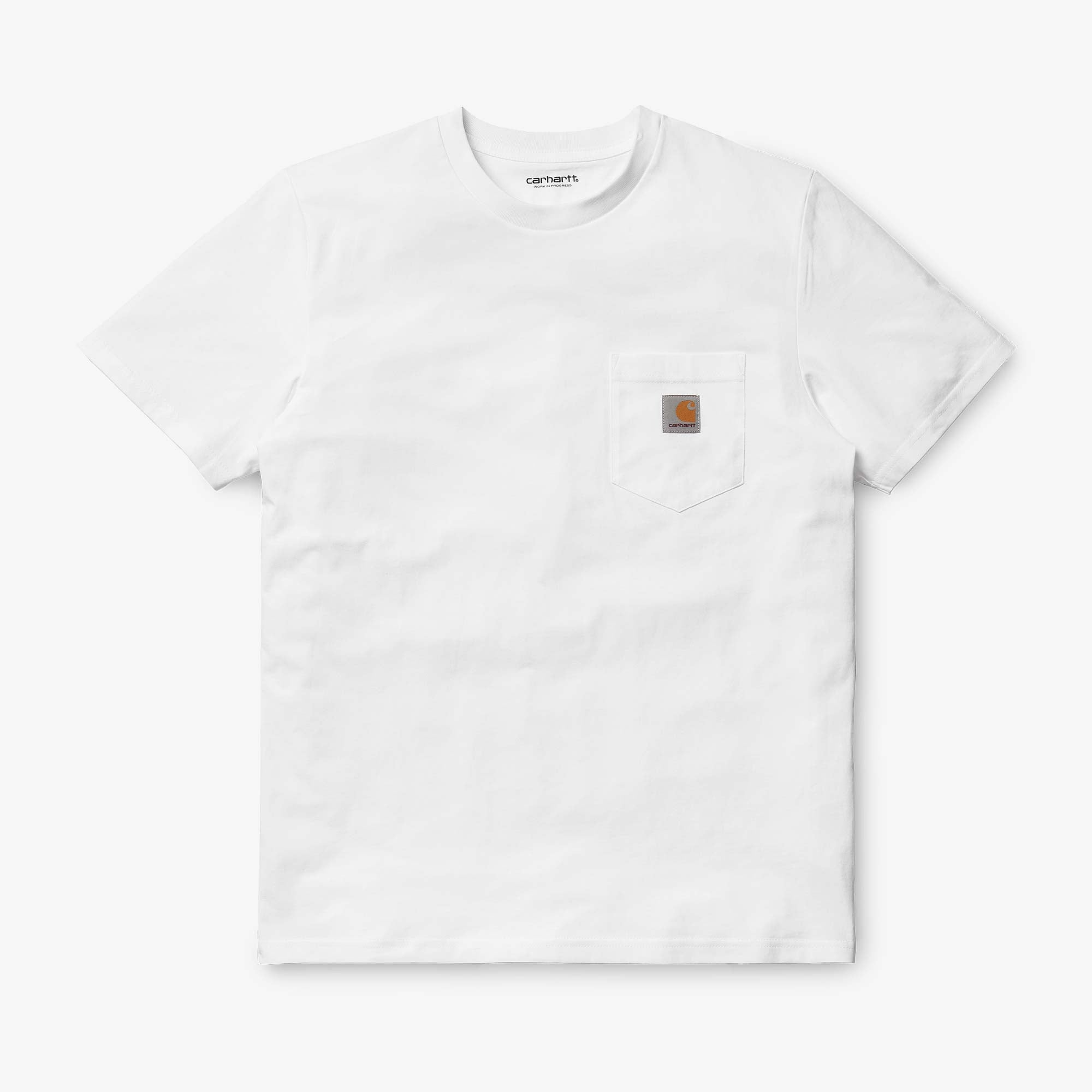 Carhartt WIP S/S Pocket Tee - White 1