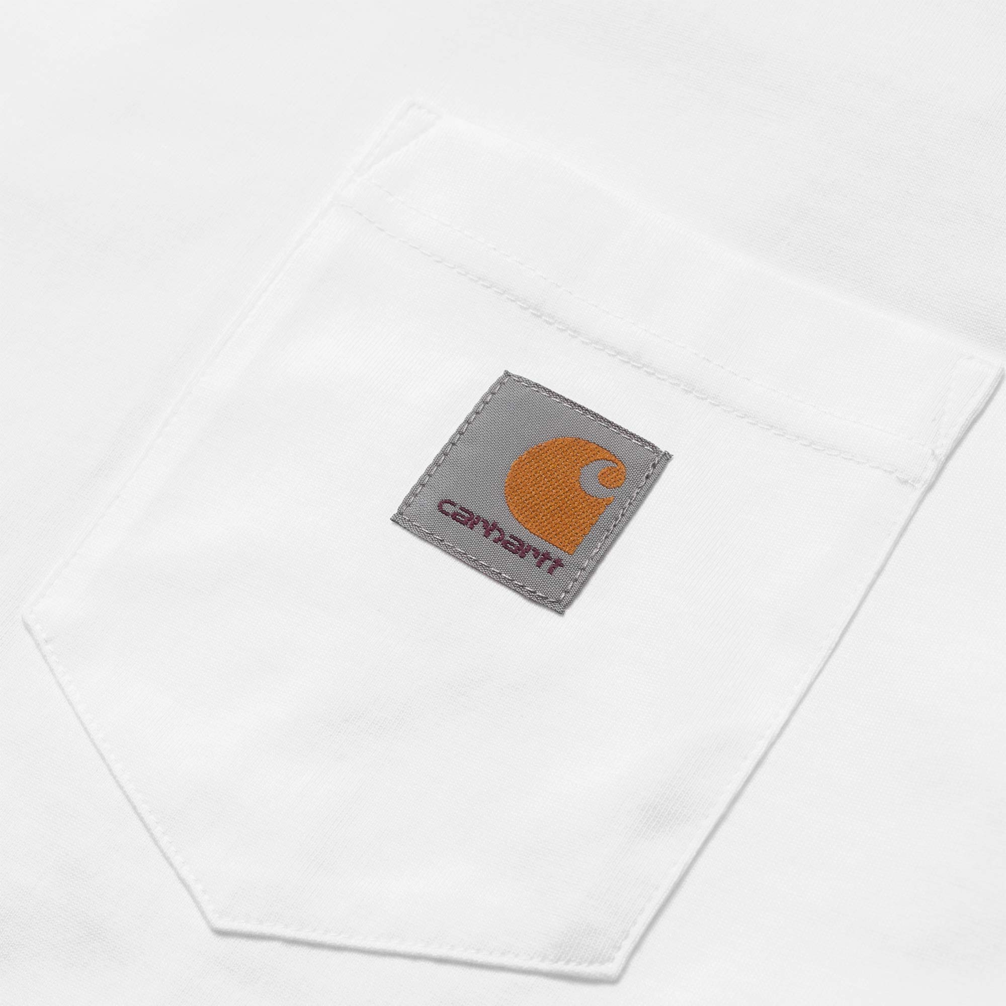 Carhartt WIP S/S Pocket Tee - White 2