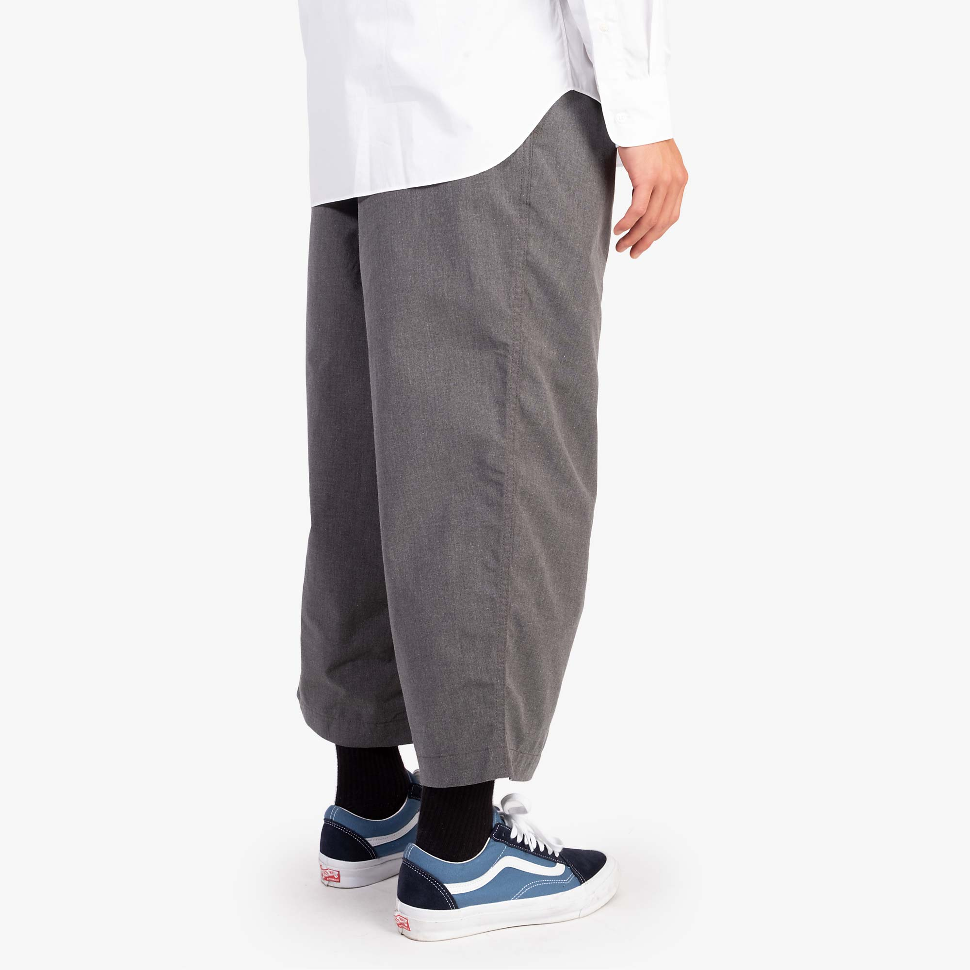 Comme des Garçons - Homme Two Tuck Wide Pleat Trousers - Grey 10