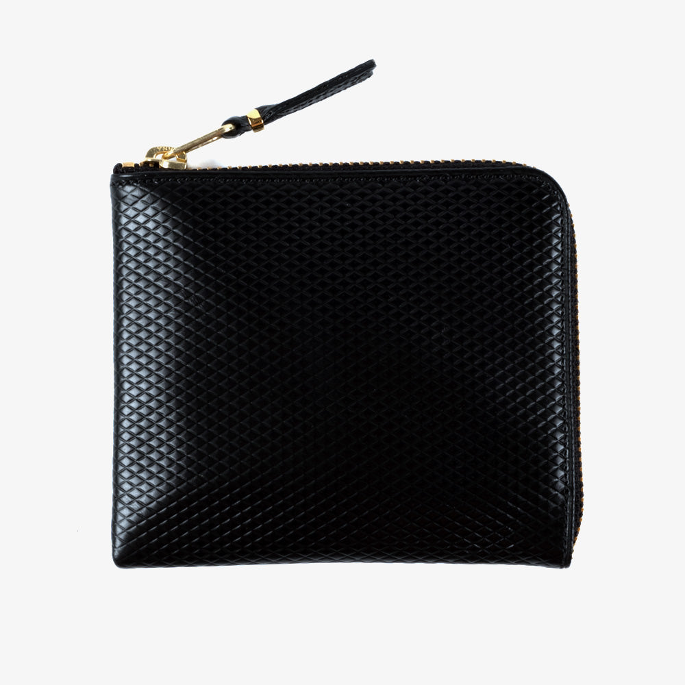 Comme des Garçons - Wallet Luxury Group Side Zip Wallet - Black 1