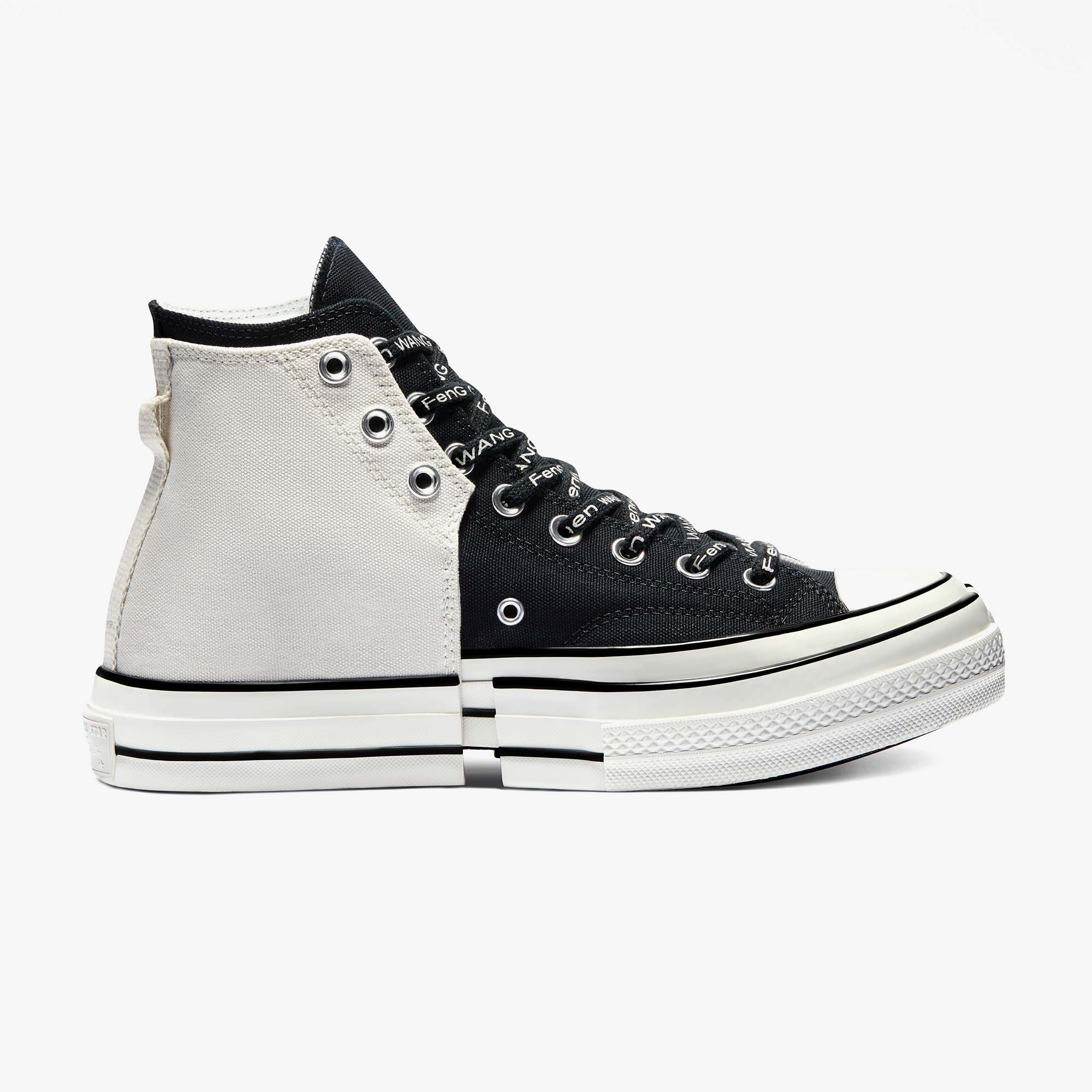 Converse Converse x Feng Chen Wang 2 In 1 Chuck Taylor 70 Hi - Ivory 9