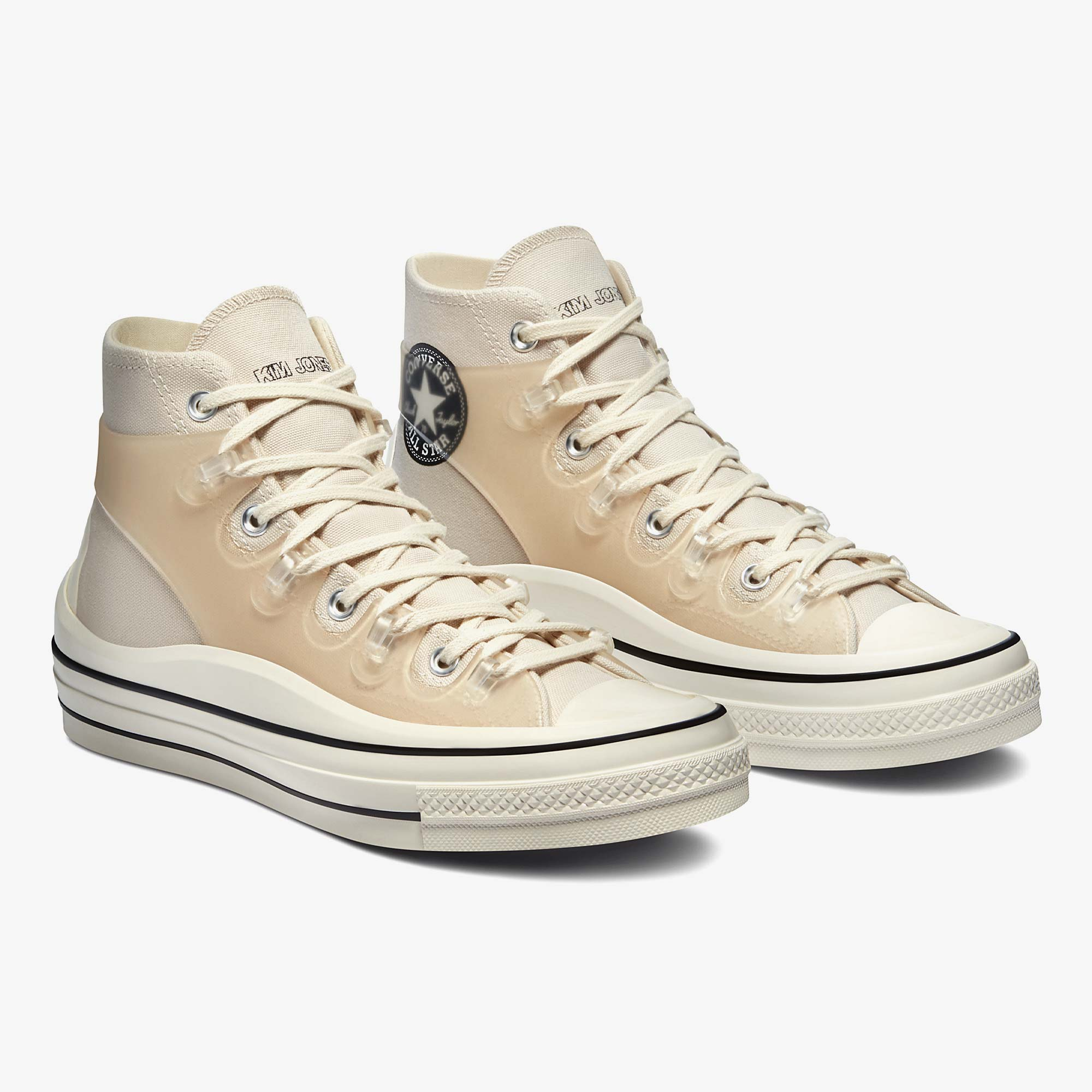 Converse x Kim Jones Chuck 70 Utility Wave Hi - White 1