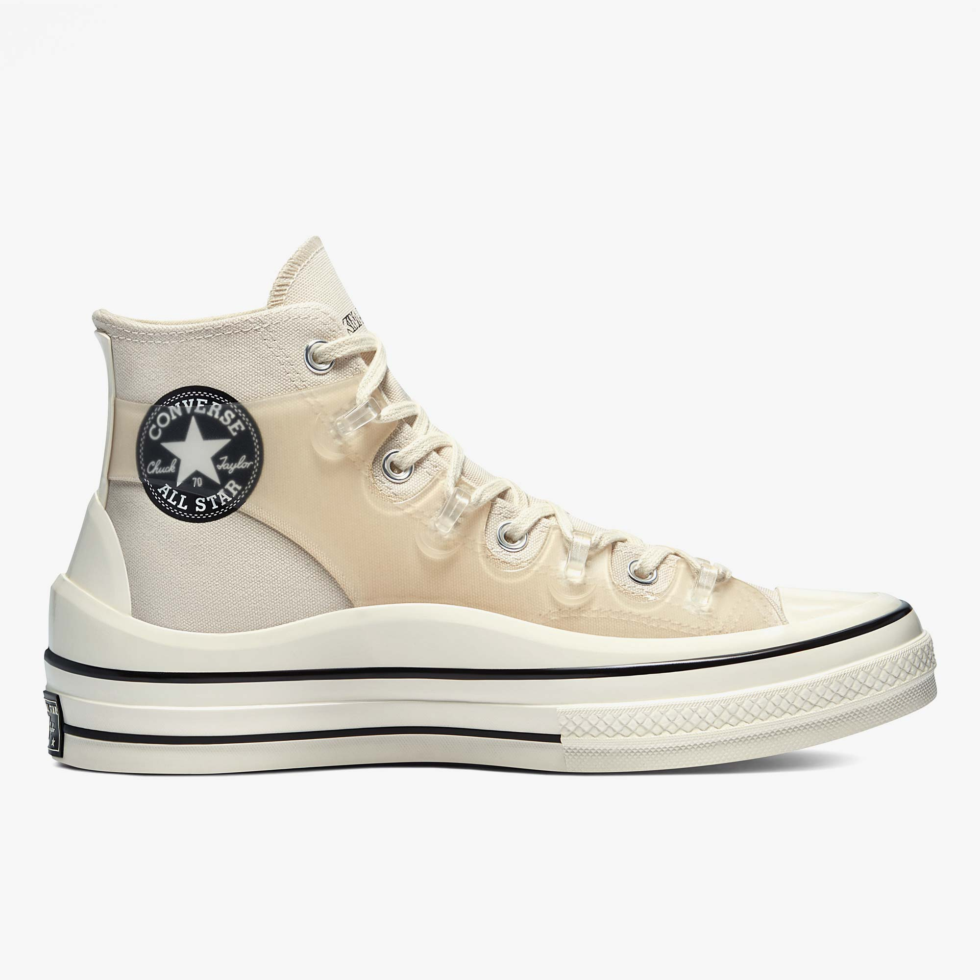 Converse x Kim Jones Chuck 70 Utility Wave Hi - White 3