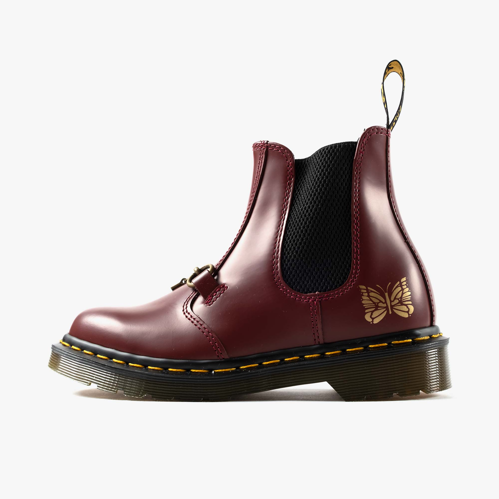 Needles Needles x Dr. Martens 2976 Snaffle - Cherry Red 3