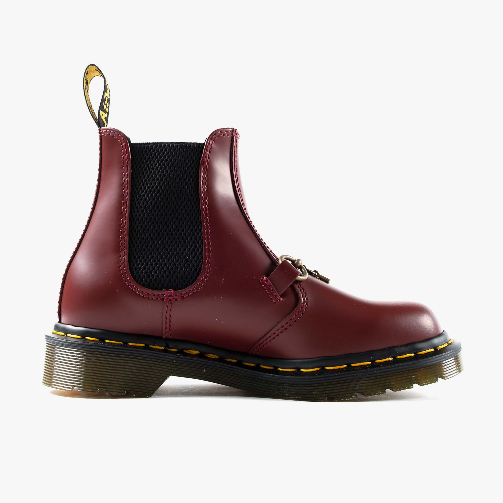 Needles Needles x Dr. Martens 2976 Snaffle - Cherry Red 4