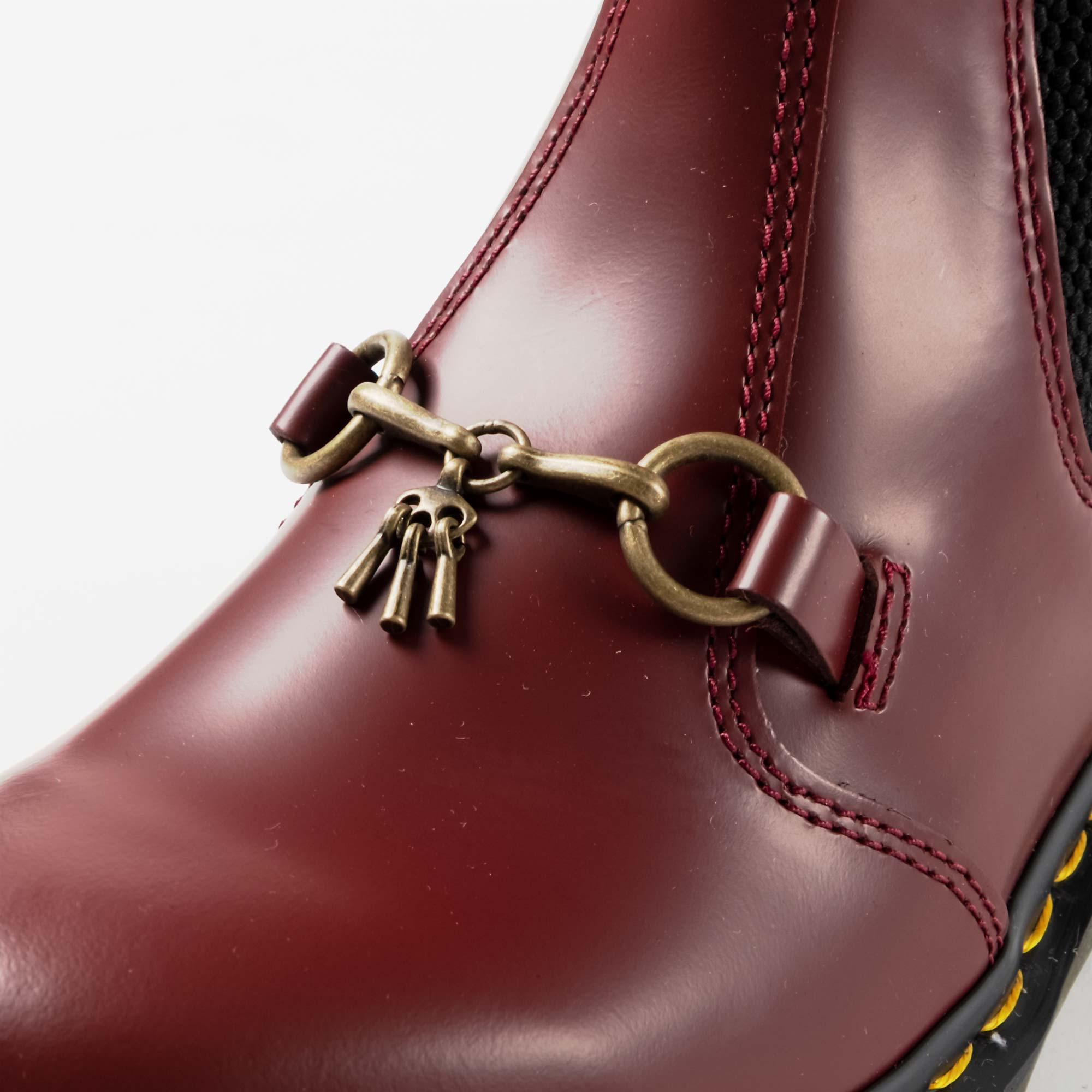 Needles Needles x Dr. Martens 2976 Snaffle - Cherry Red 7