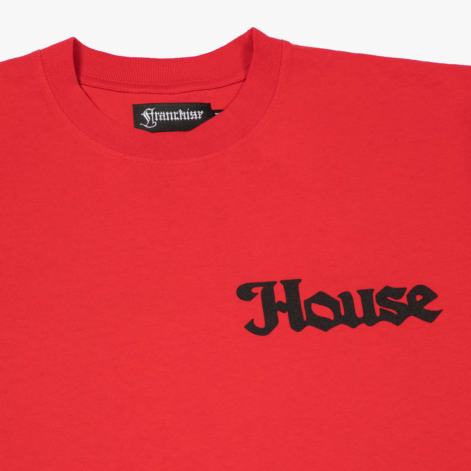 Franchise In The Beginning SS Tee - Washed Red 4