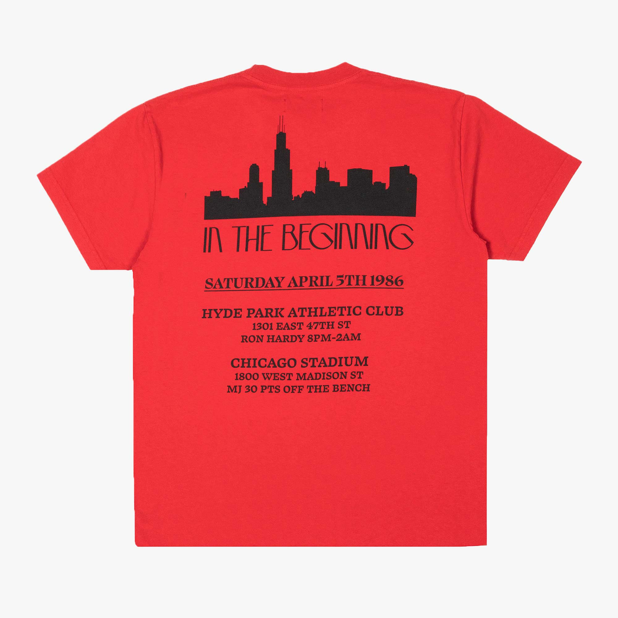 Franchise In The Beginning SS Tee - Washed Red 1