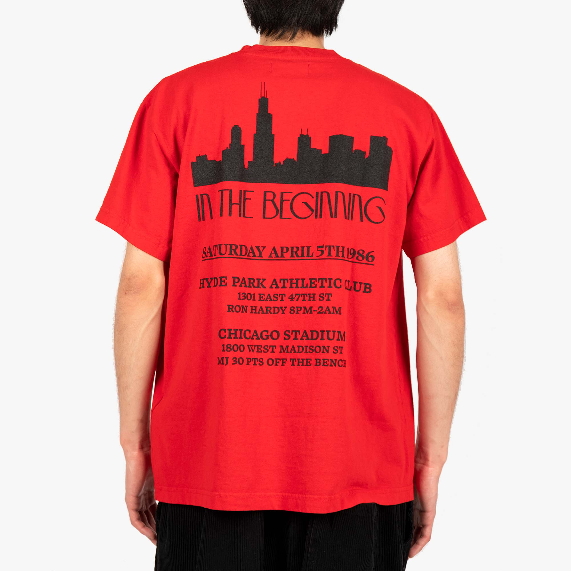 Franchise In The Beginning SS Tee - Washed Red 6