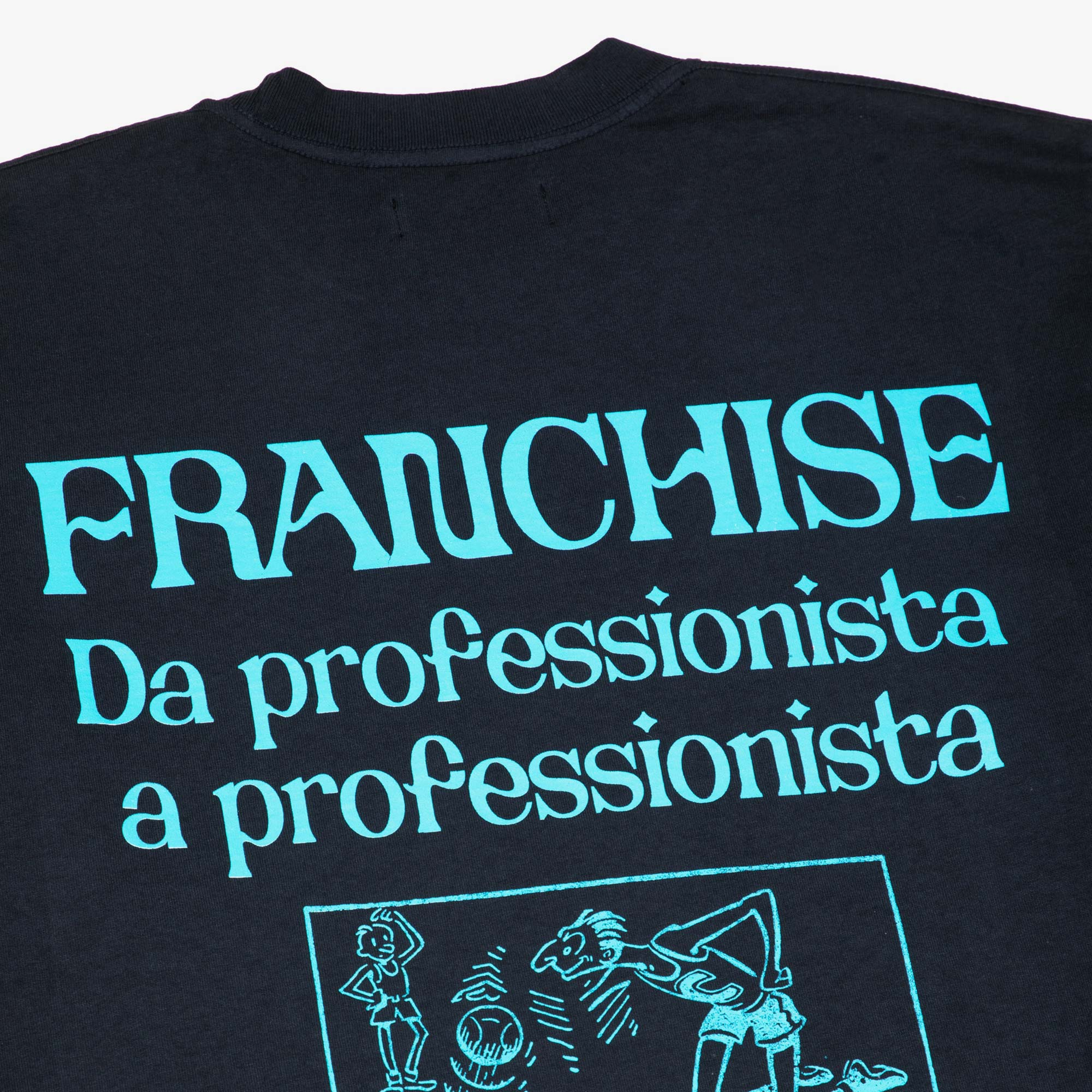 Franchise Keep It Professional LS Tee - Washed Black 3