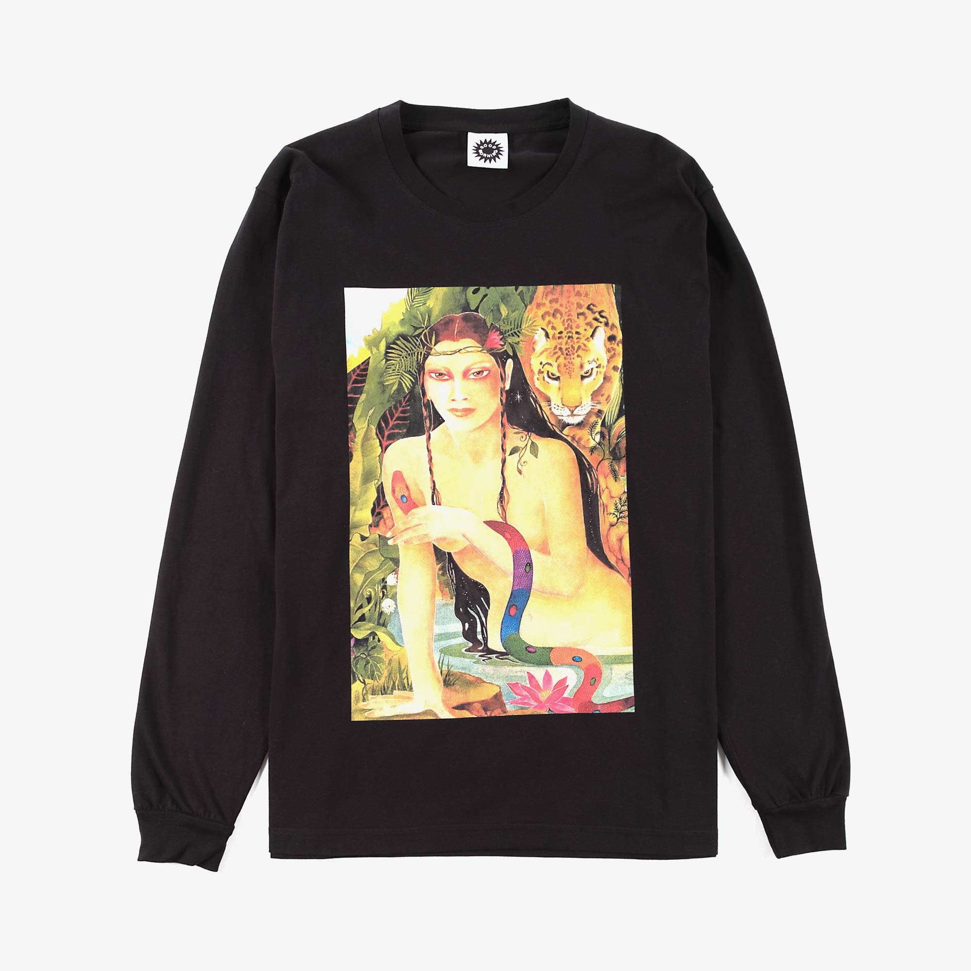 Good Morning Tapes Lilith LS Tee - Washed Black 1