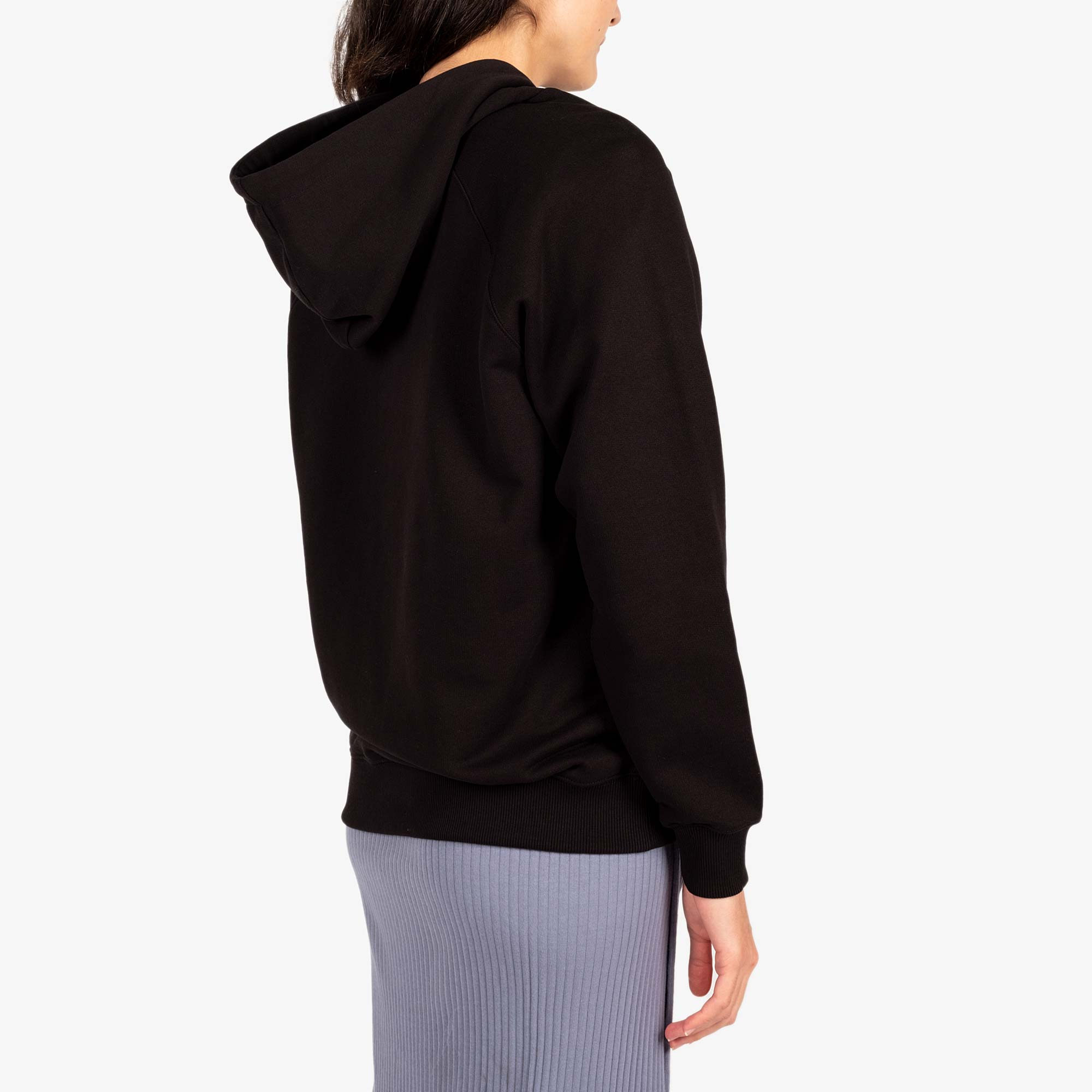 Kenzo Womens Tiger Hooded Sweatshirt - Black 6
