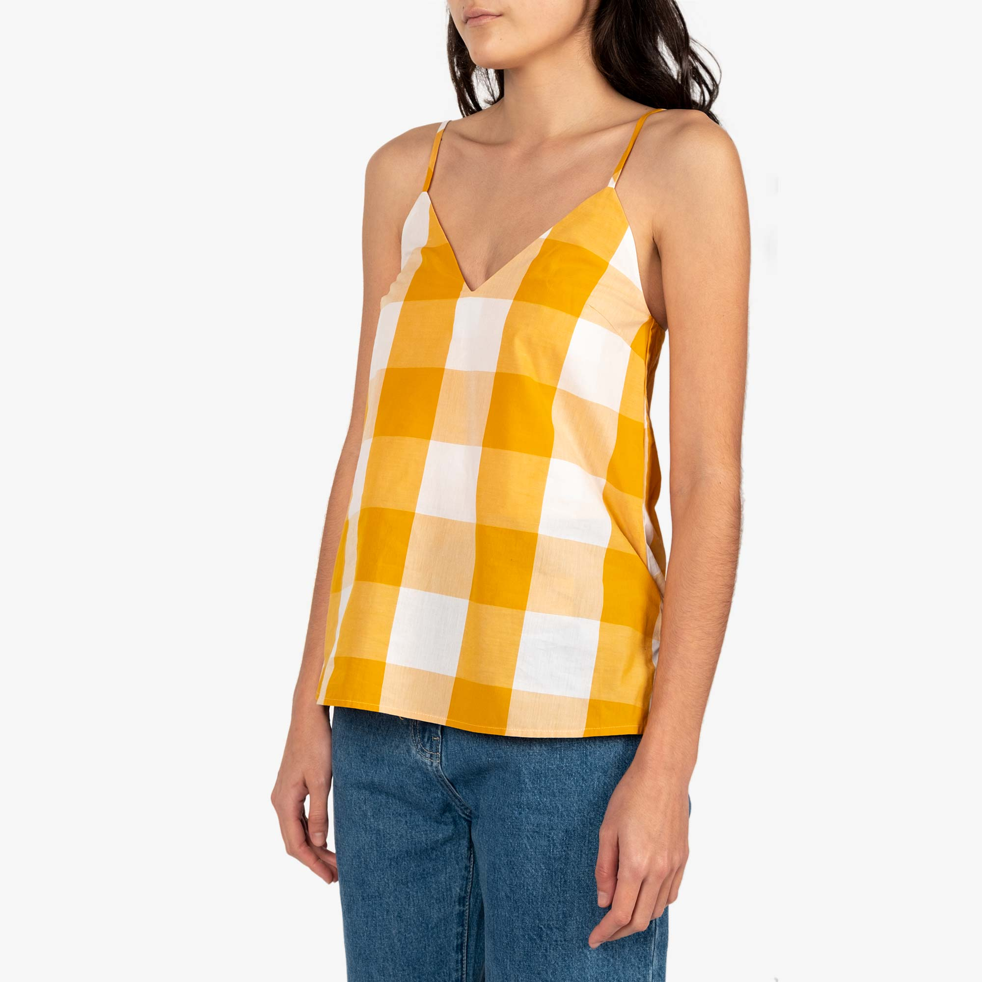 Kowtow Stencil Top - Daisy Check 3