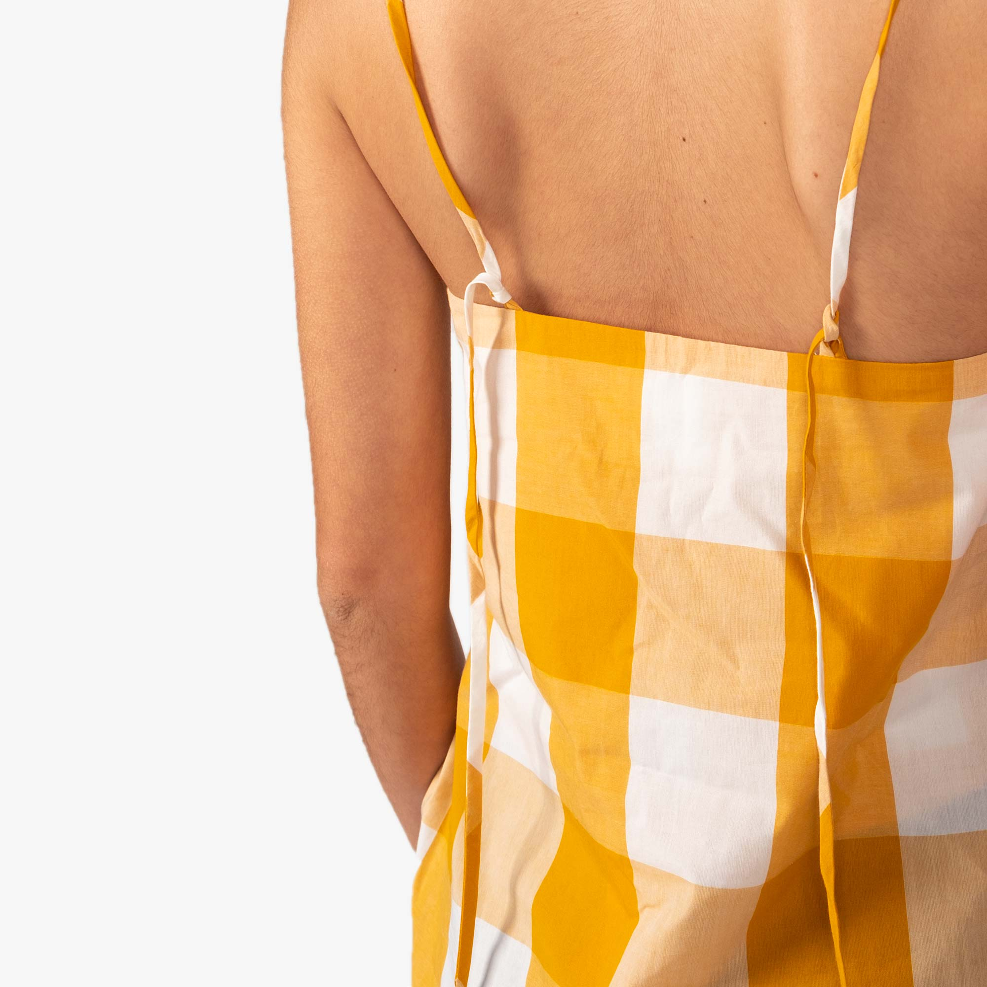 Kowtow Stencil Top - Daisy Check 5