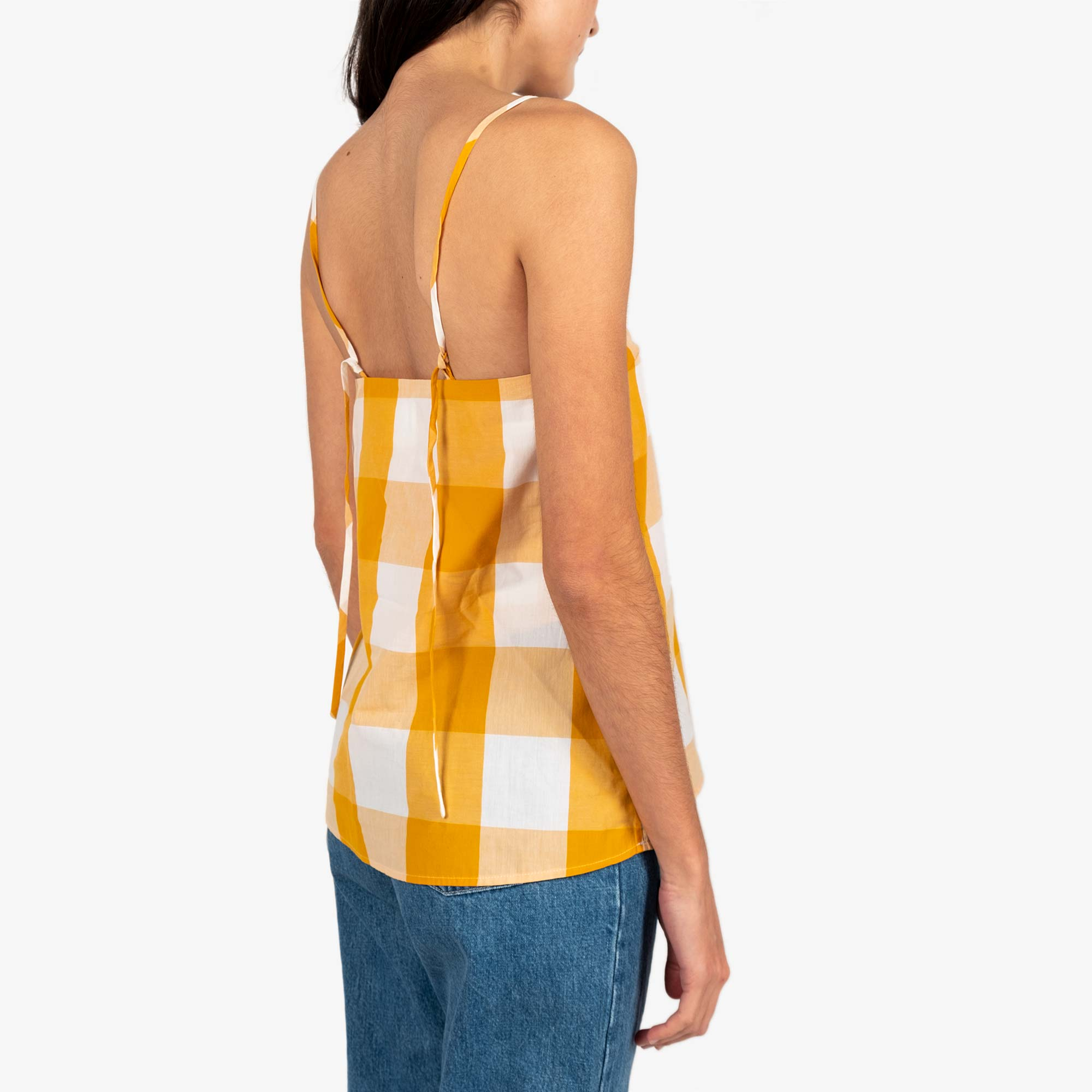 Kowtow Stencil Top - Daisy Check 4