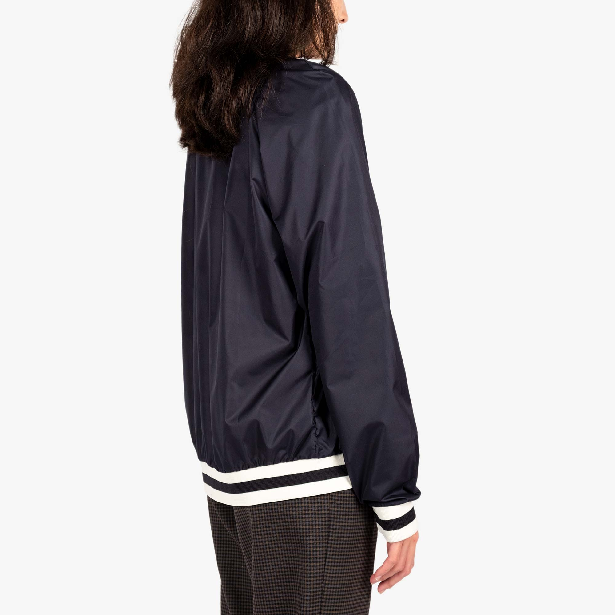 Maison Kitsune Womens Windbreaker - Navy 6
