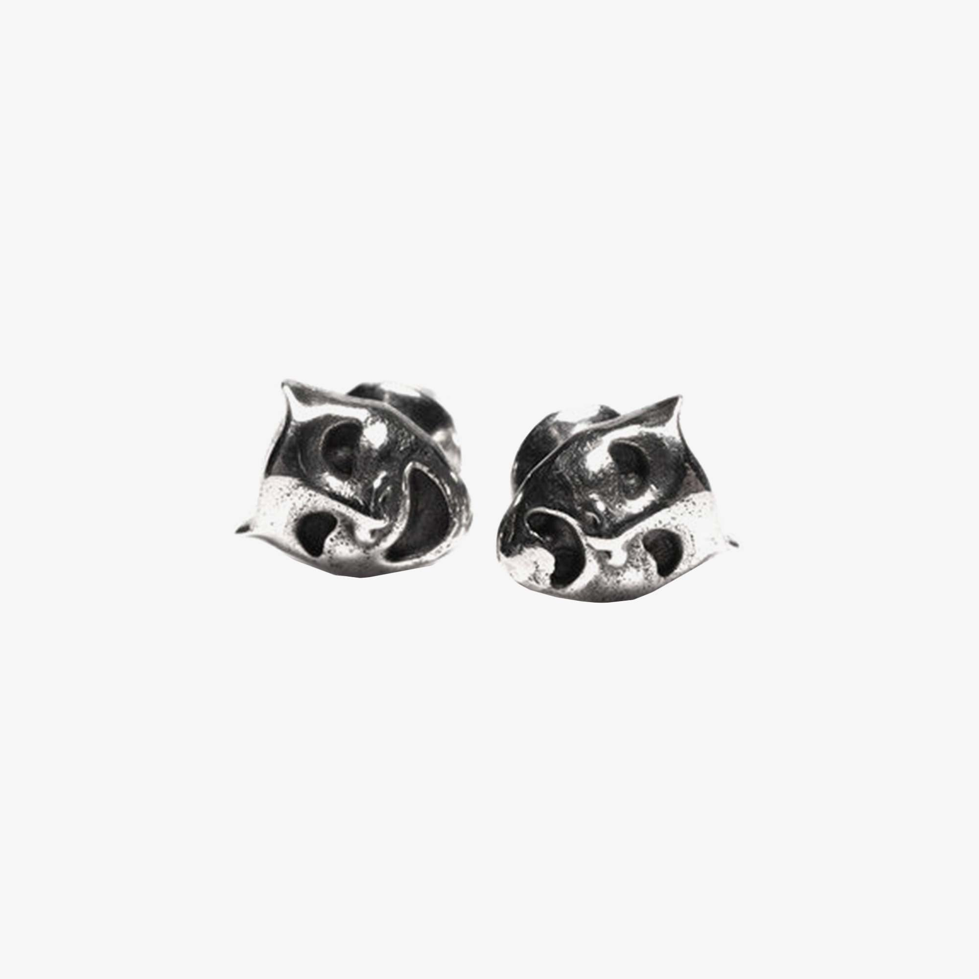 Maple Laugh Now Cry Later Earrings - Silver 1