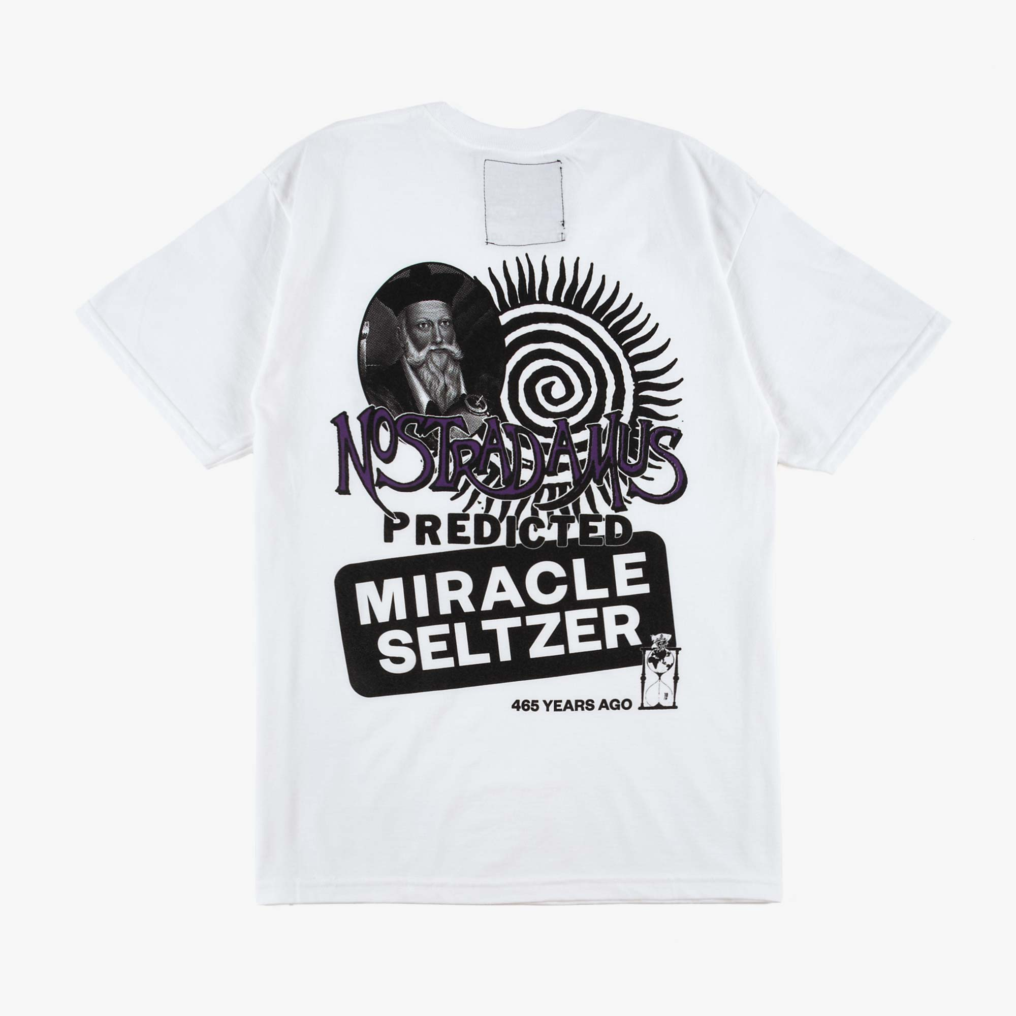 Miracle Seltzer The Nostradamus Tee - White 1