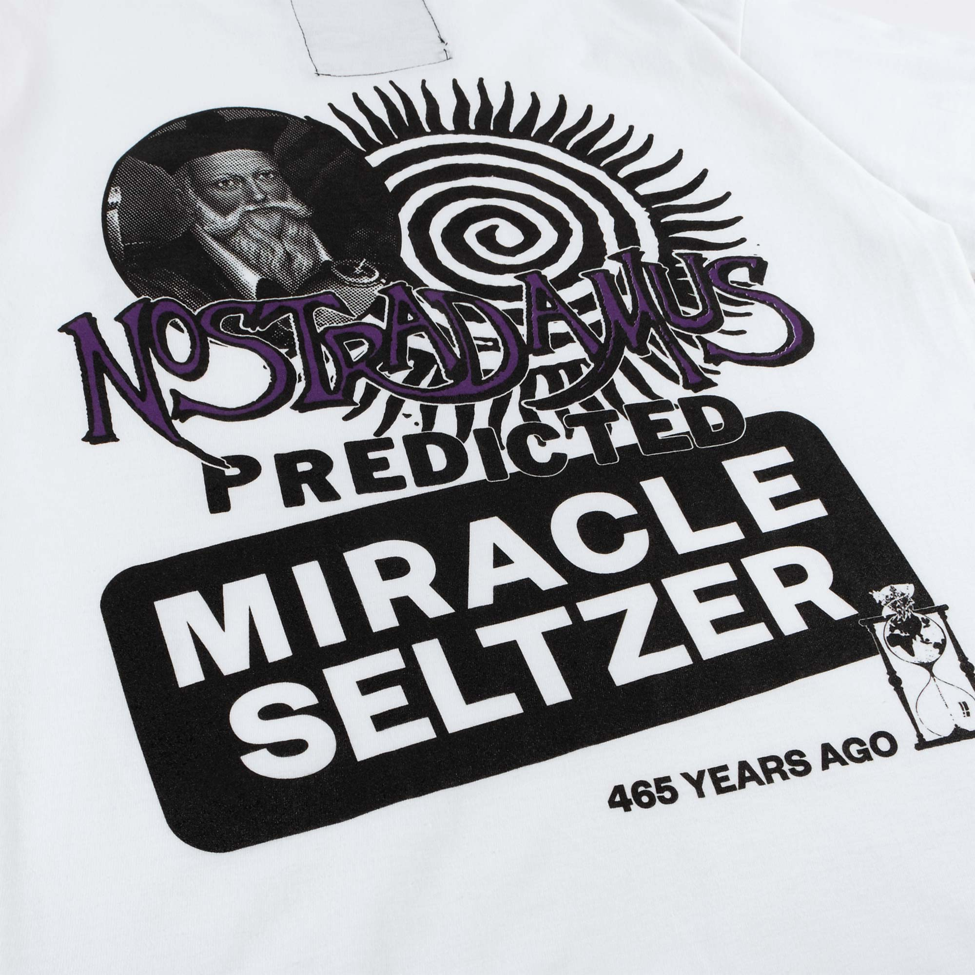 Miracle Seltzer The Nostradamus Tee - White 4