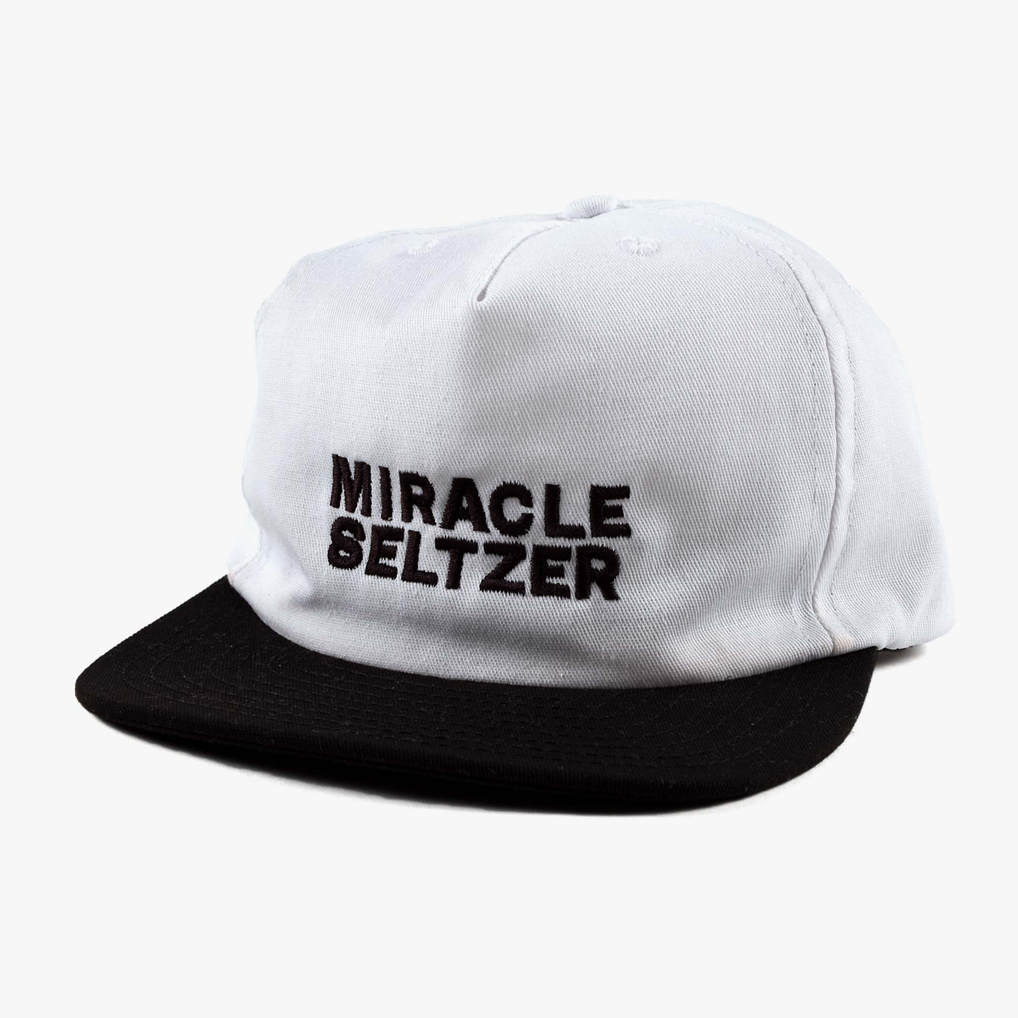 Miracle Seltzer The Two Tone Hat - White / Black 1
