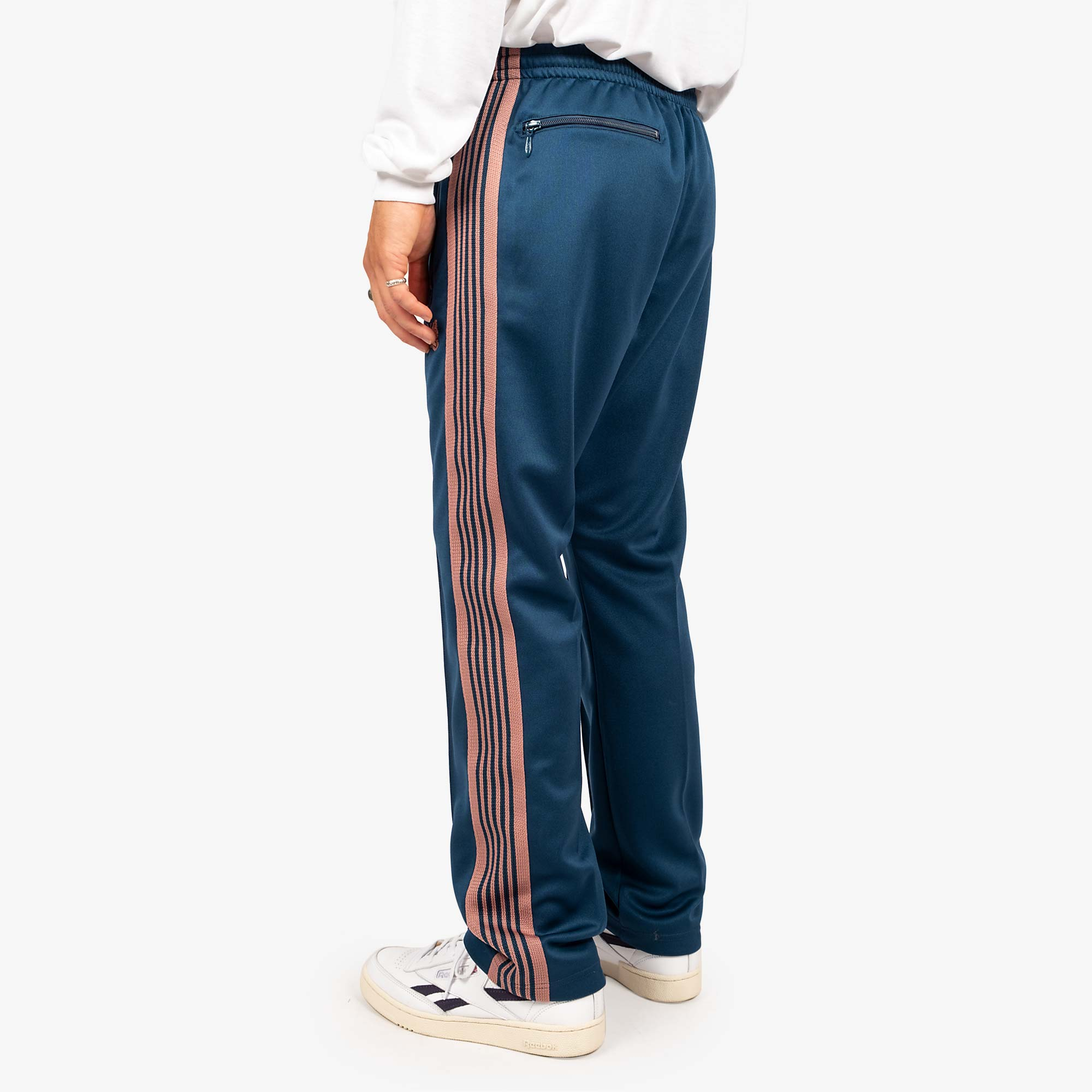 Needles M' Narrow Track Pant - Poly Smooth Teal Green 6
