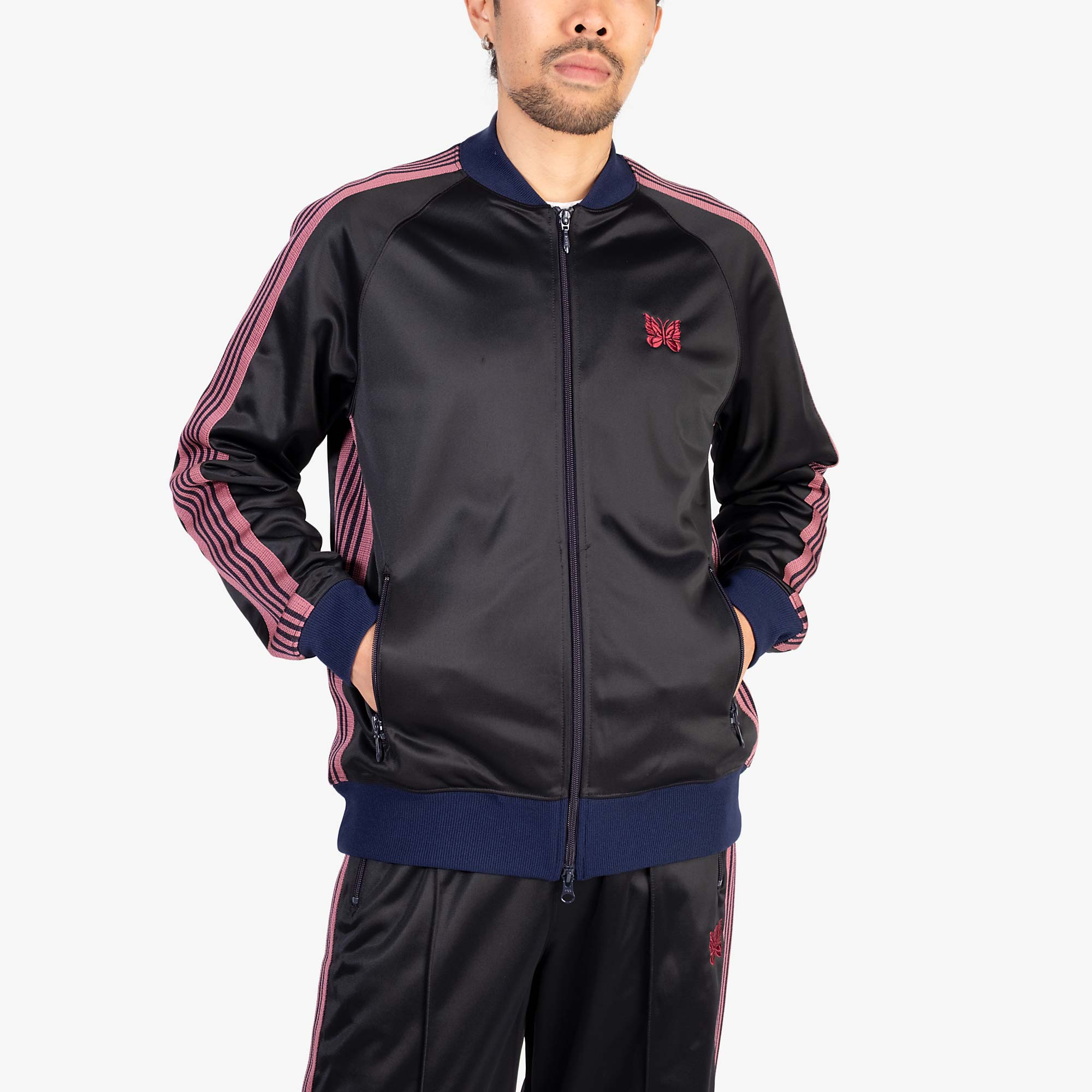 Needles M' R.C. Track Jacket - Navy 5