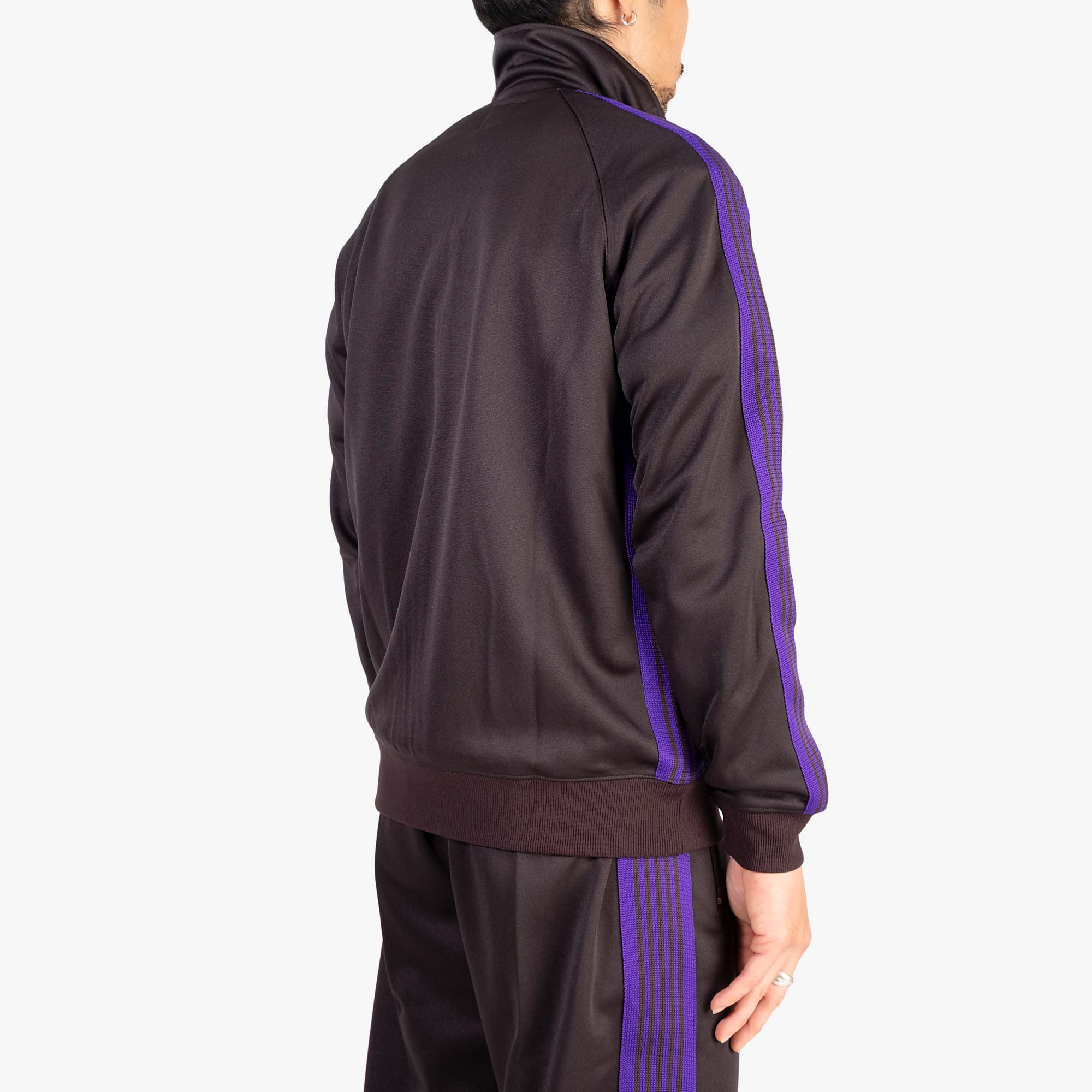 Needles M' Track Jacket Poly Smooth - Charcoal 10