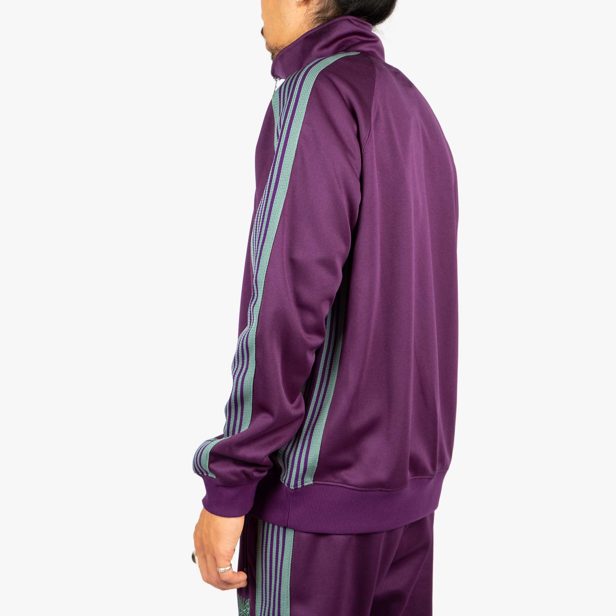 Needles M' Track Jacket - Poly Smooth Eggplant 9