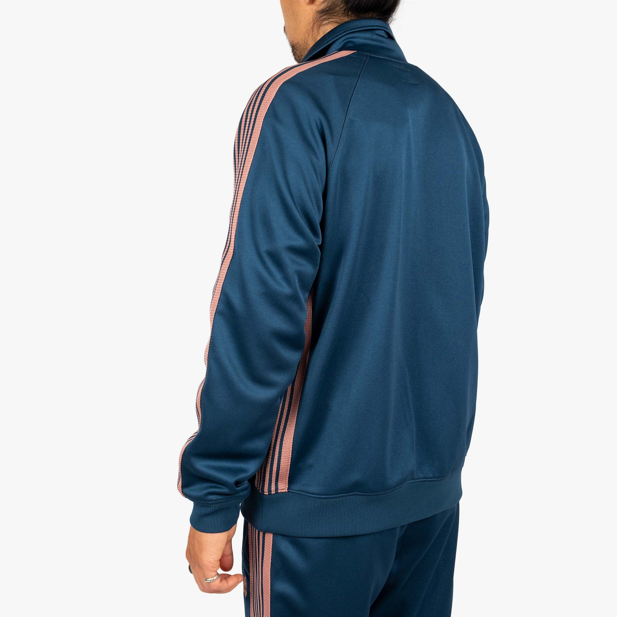 Needles M' Track Jacket - Poly Smooth Teal Green 8