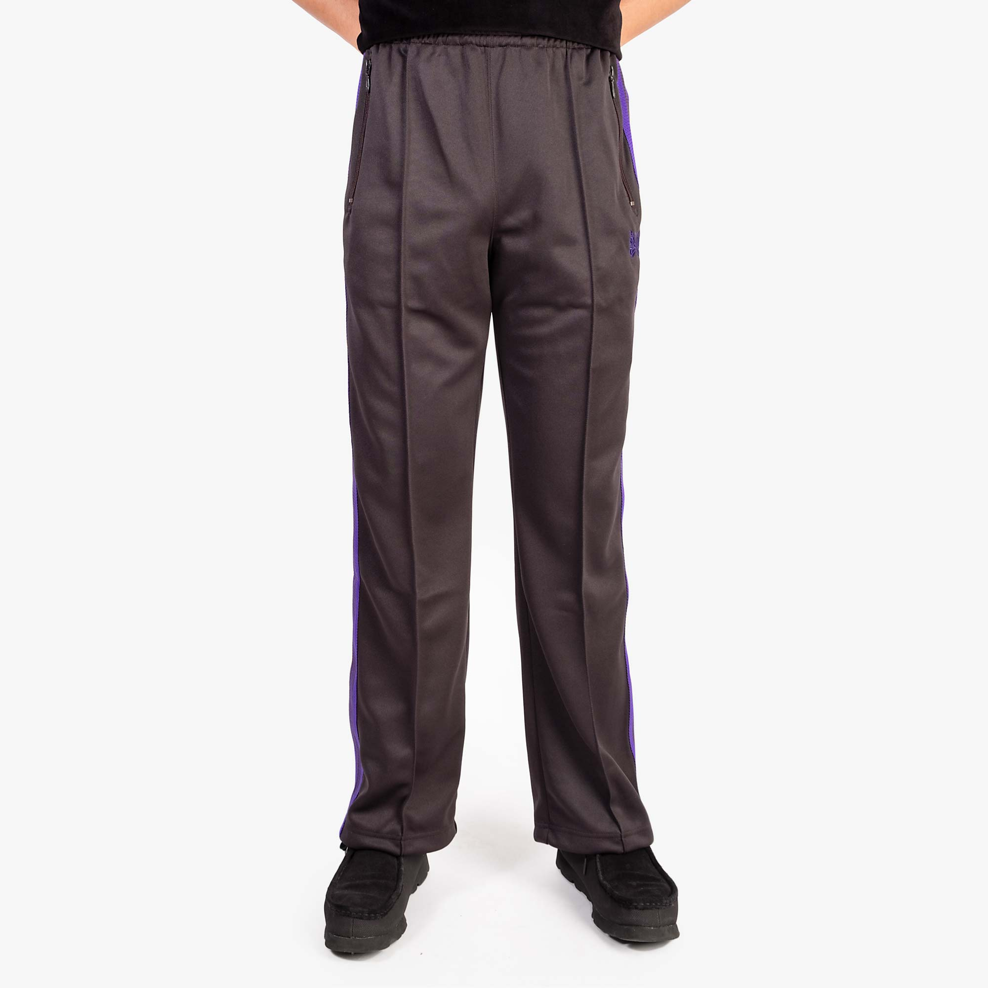 Needles M' Track Pant Poly Smooth - Charcoal 8