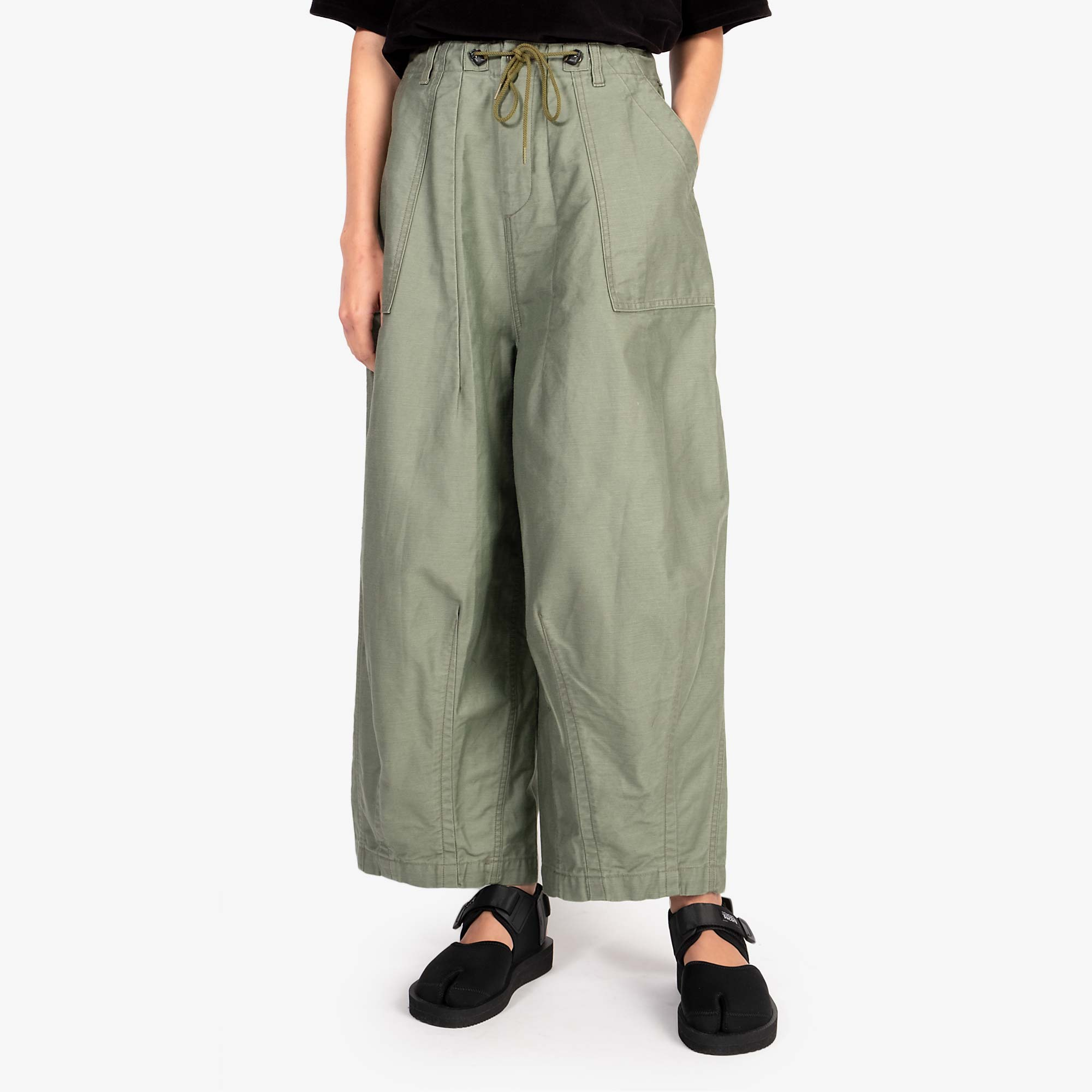 Needles W' H.D. Fatigue Pant - Olive 1