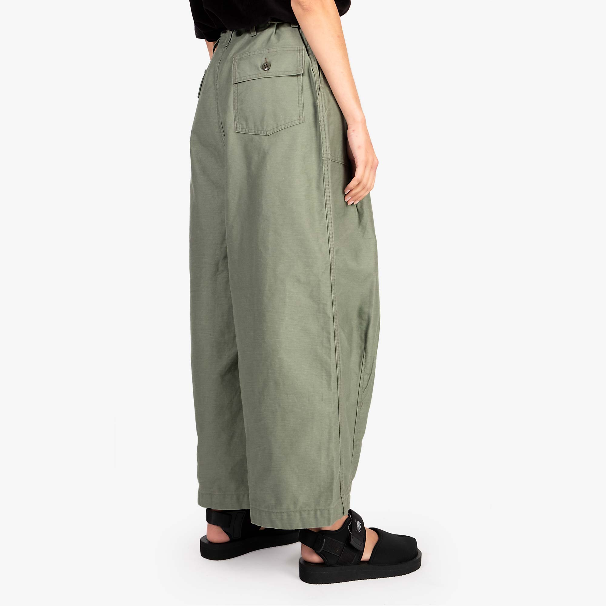 Needles W' H.D. Fatigue Pant - Olive 4
